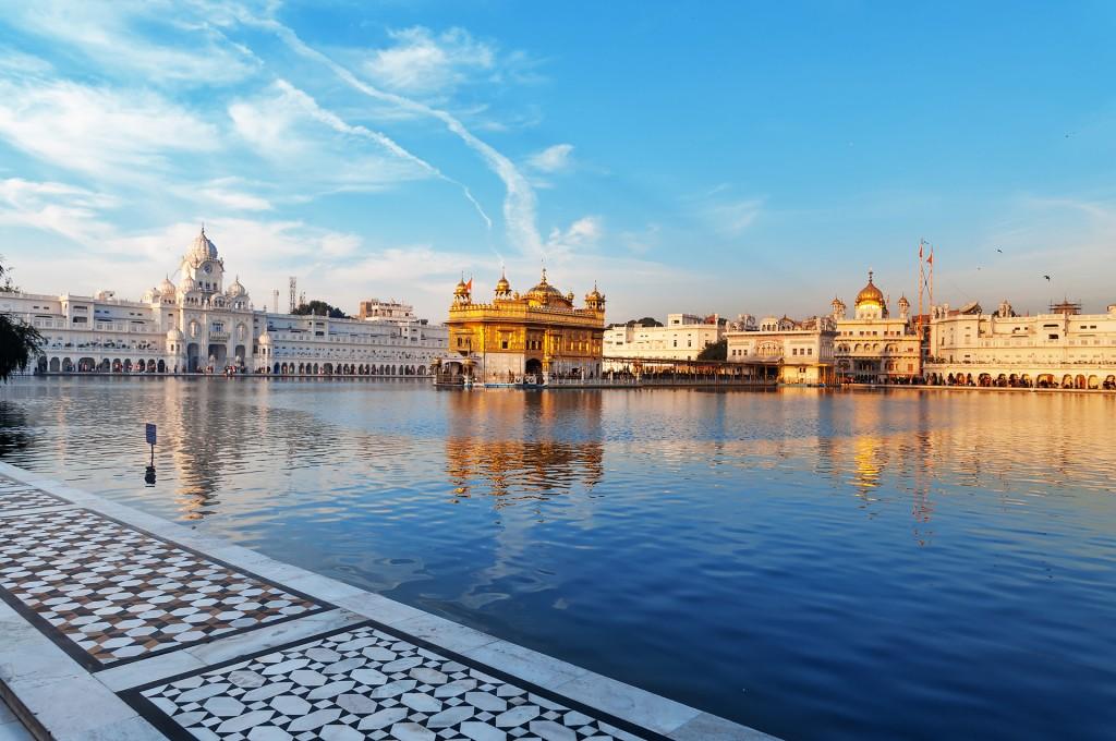 """Harmandir Sahib or the """"Golden Temple"""", Amritsar, India"""