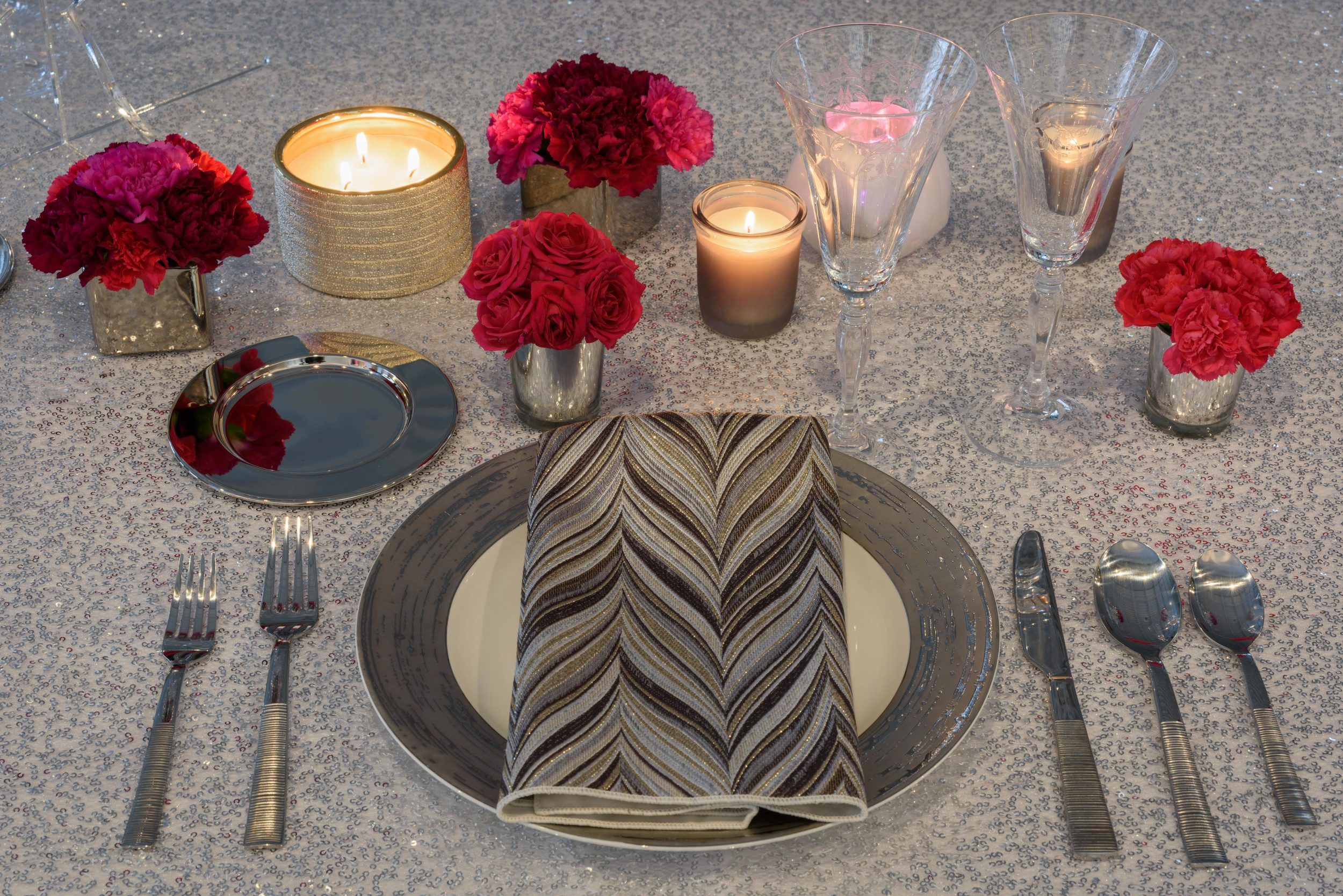 Our favorite new linen napkin from Linen Effects!