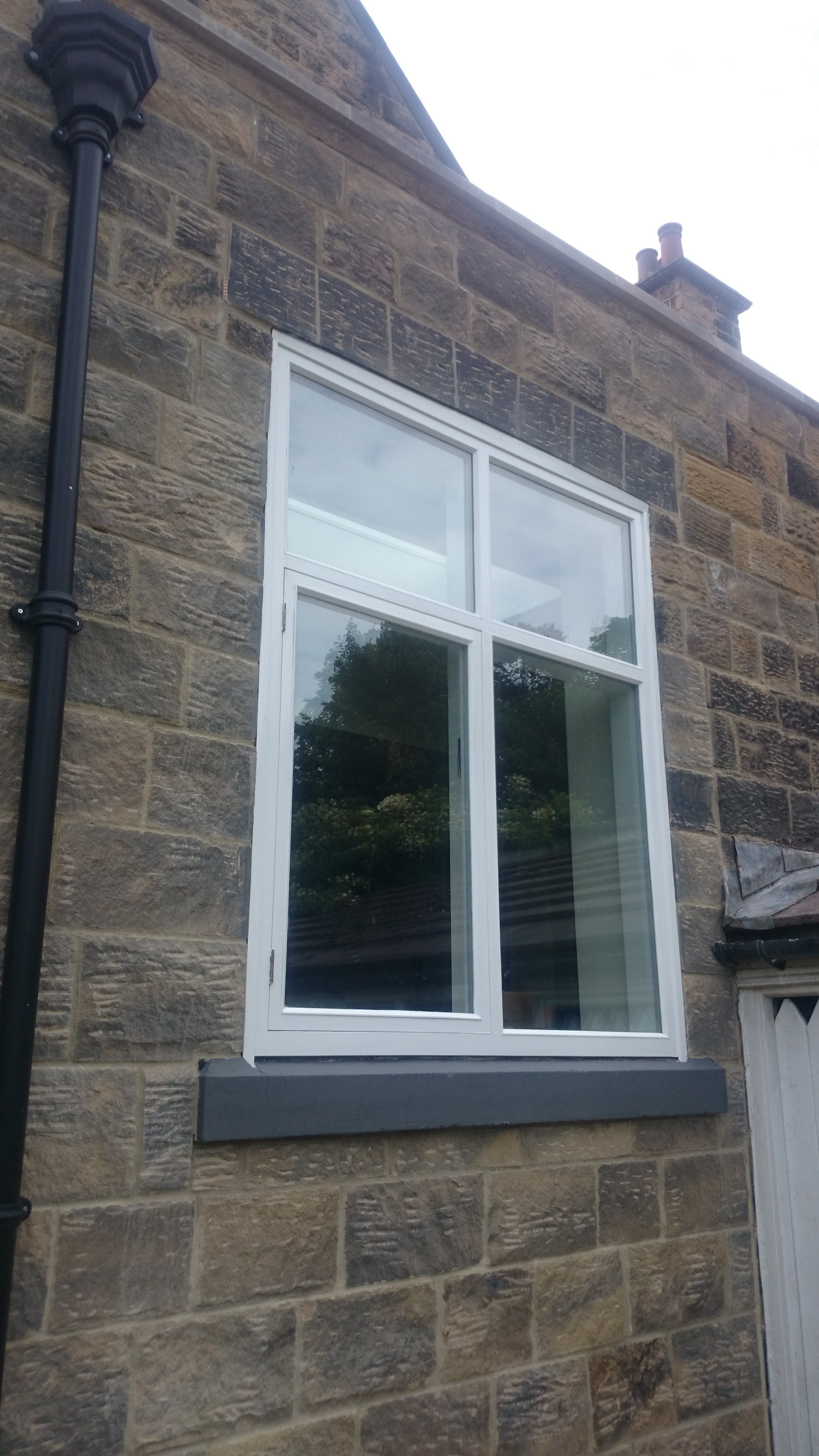 New  timber window