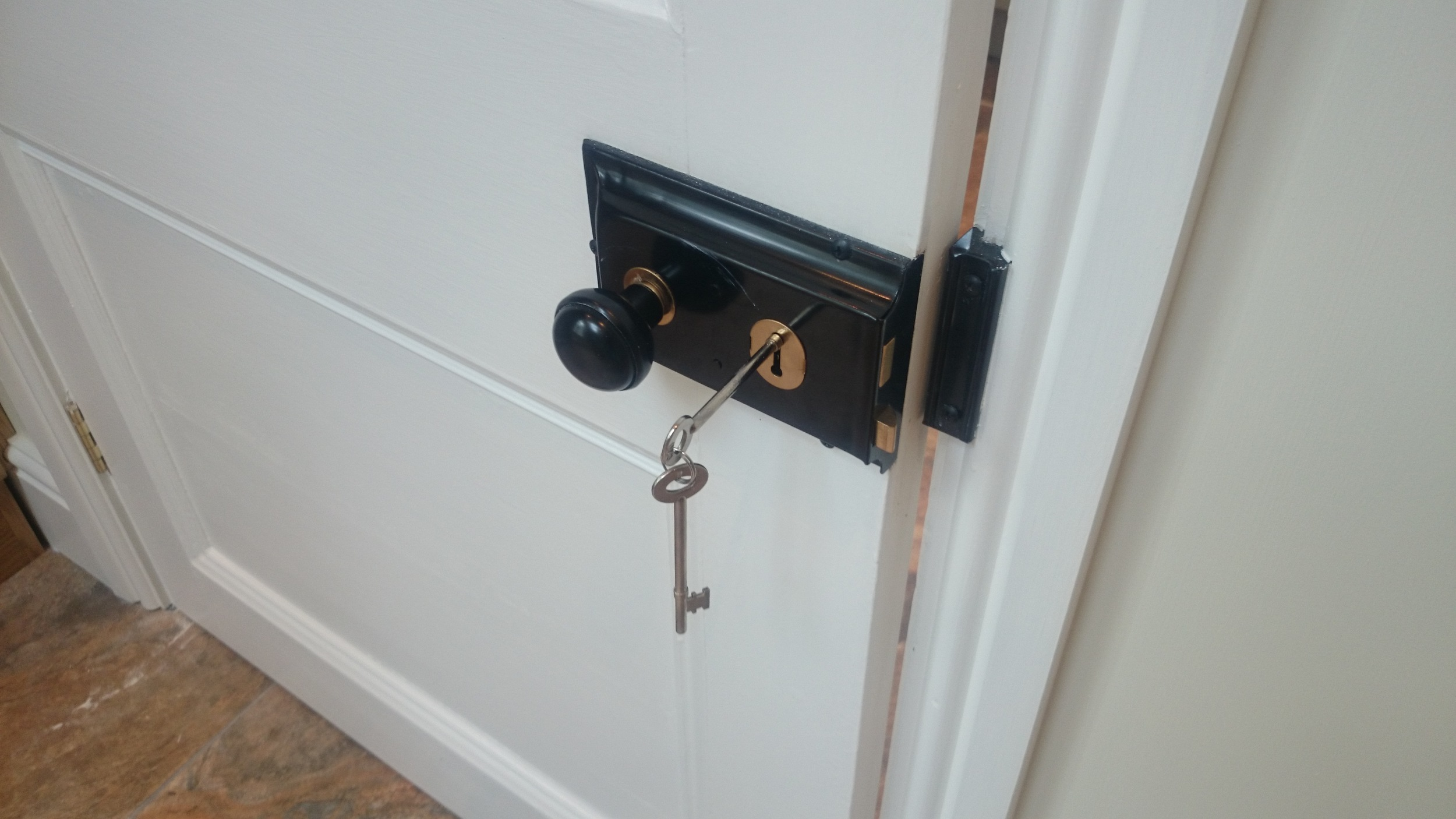 Period door lock