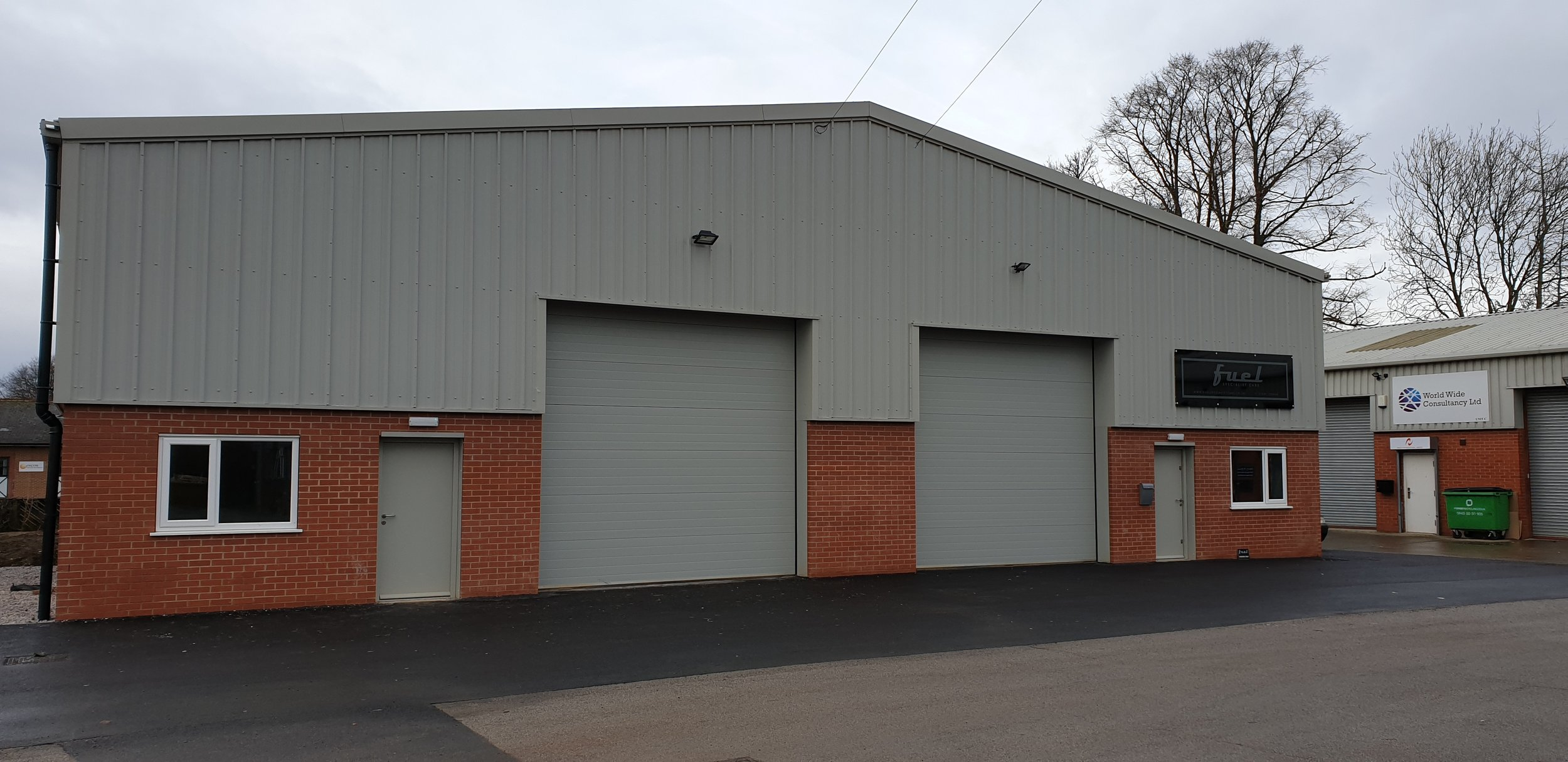 New industrial unit