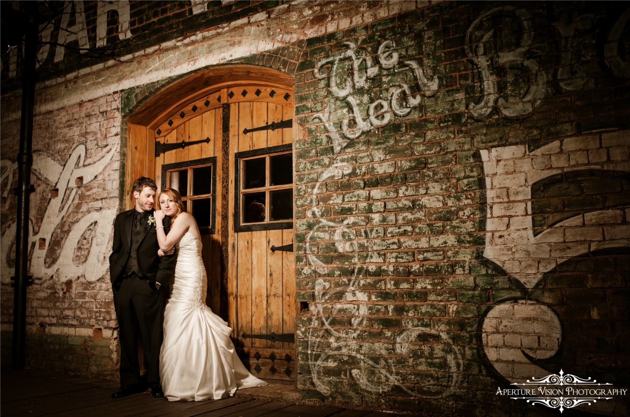 Bride and Groom - Callie Weddings _ Hailey & Barrett _ Old Cigar Warehouse _ Greenville, SC.jpg
