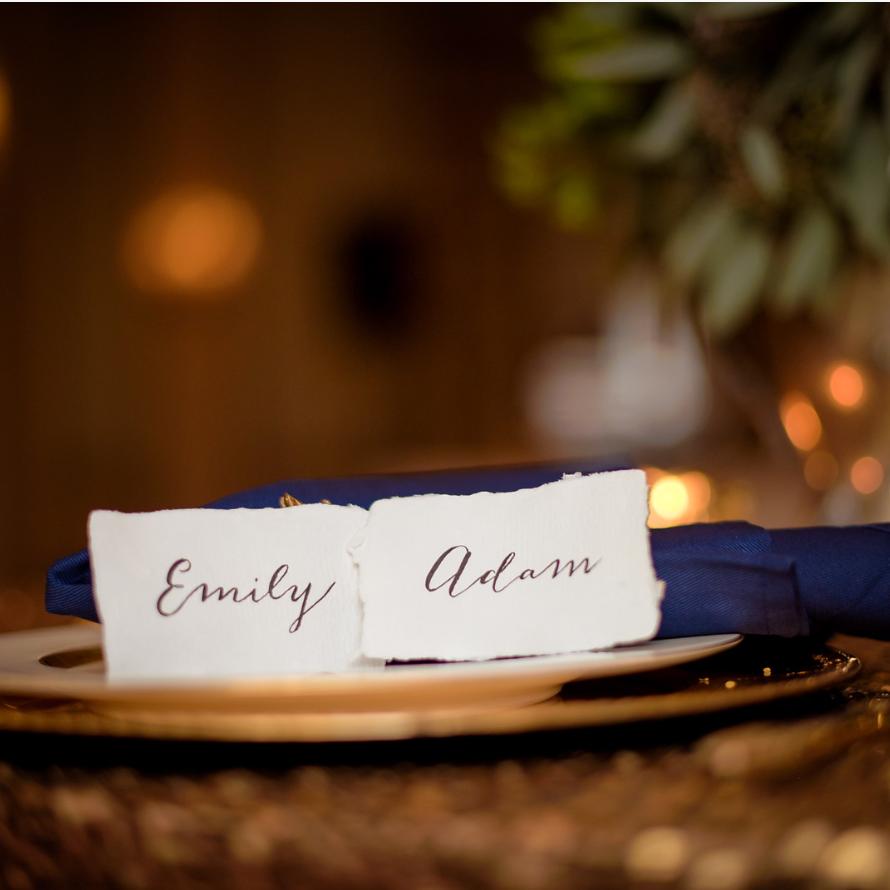 Callie Weddings|Emily & Adam|Greenville, SC Wedding|Westin Poinsett  Wedding| Callie Calligraphy|Signora e Mare Handmade Escort Card Paper.png