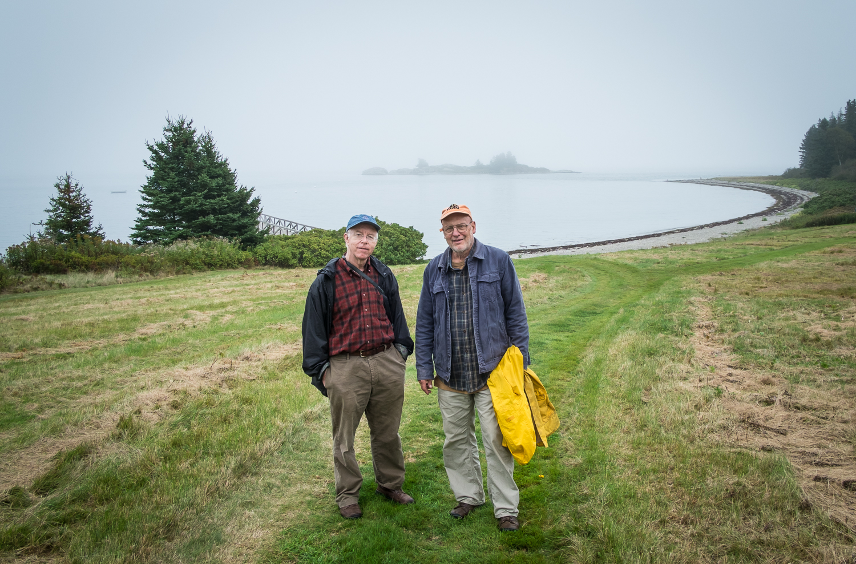 Lee Ewing & John Ockenga, Maine 2012