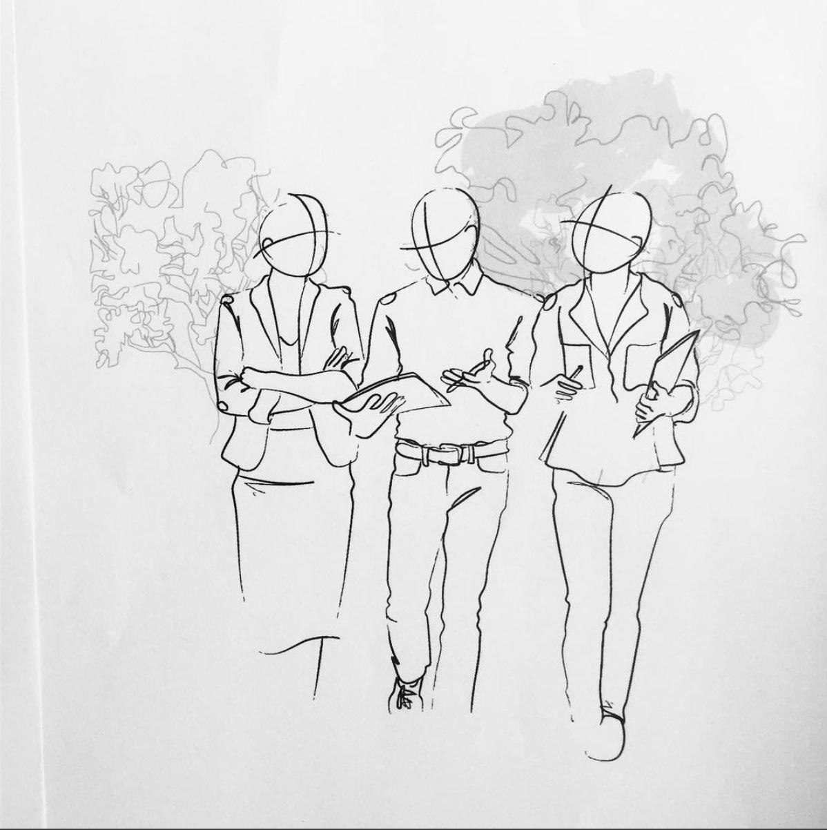 sketch-walking