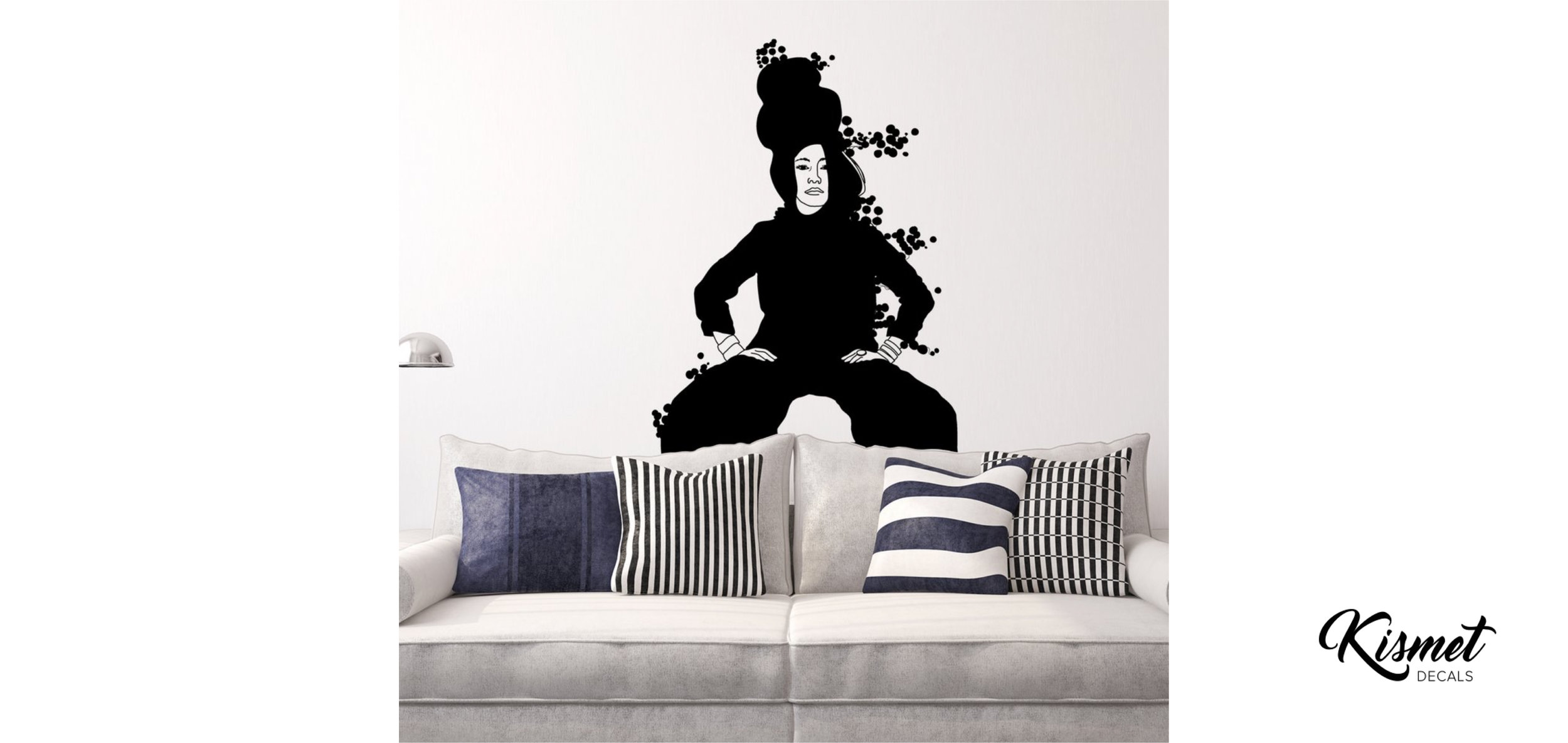 christina-heitmann-illustration-strike a pose-wall stickers.jpg
