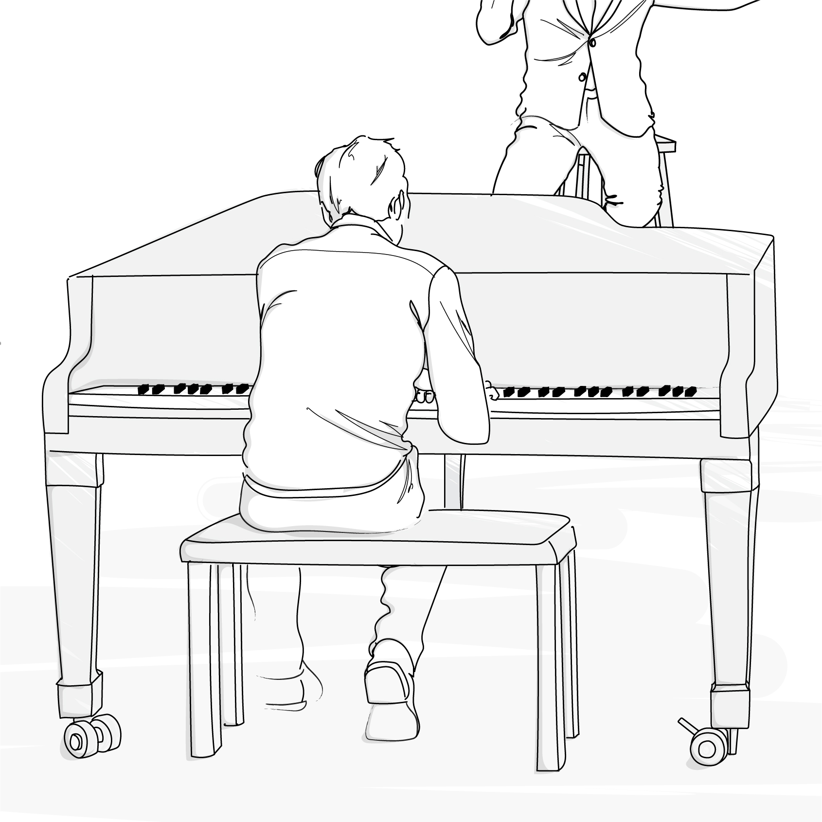 Piano player