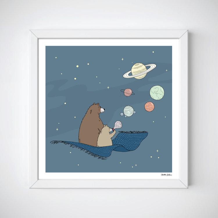 Bubbles print