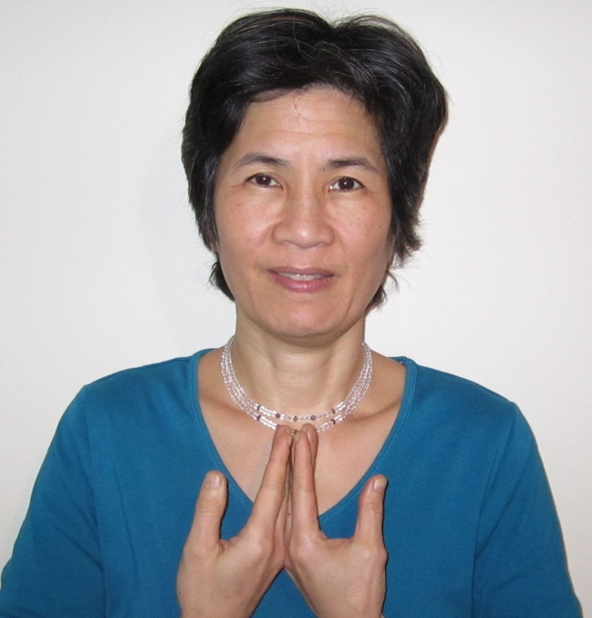 One of Hand Positions for The Healing Codes