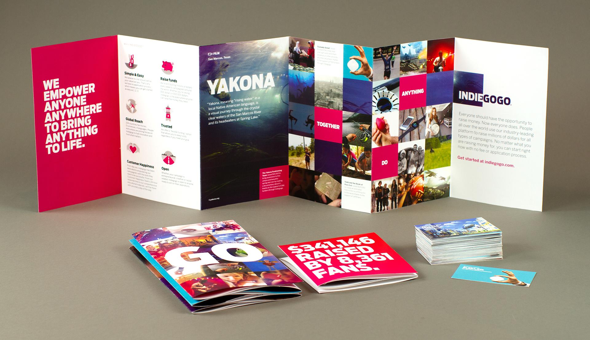 Indiegogo Brochure System