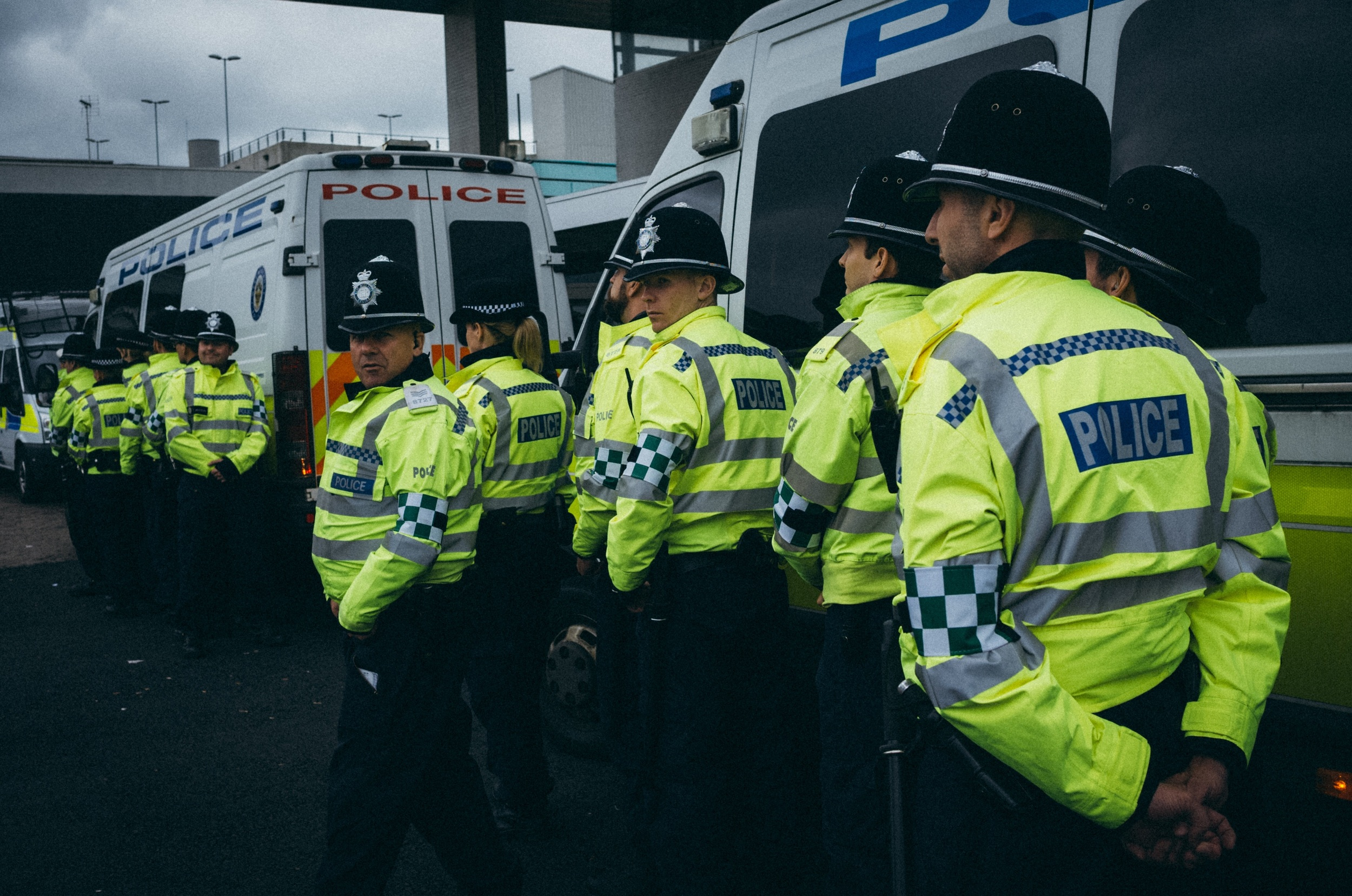 Police Presence - Clifford Darby 2016