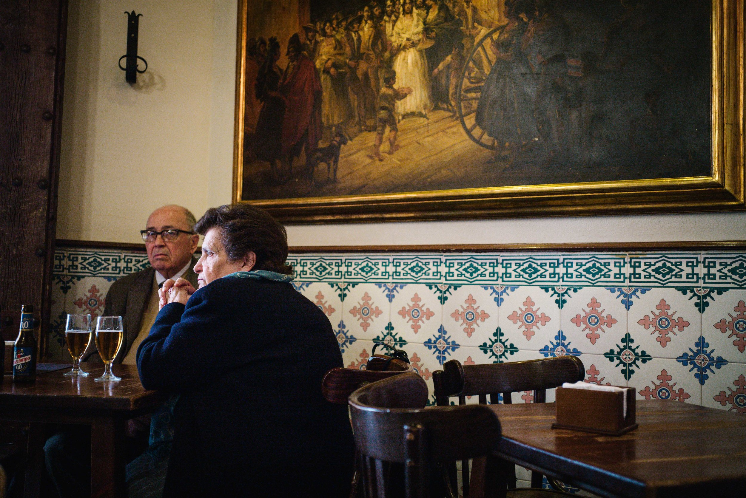 Lunch, Seville. Spain. 2017.