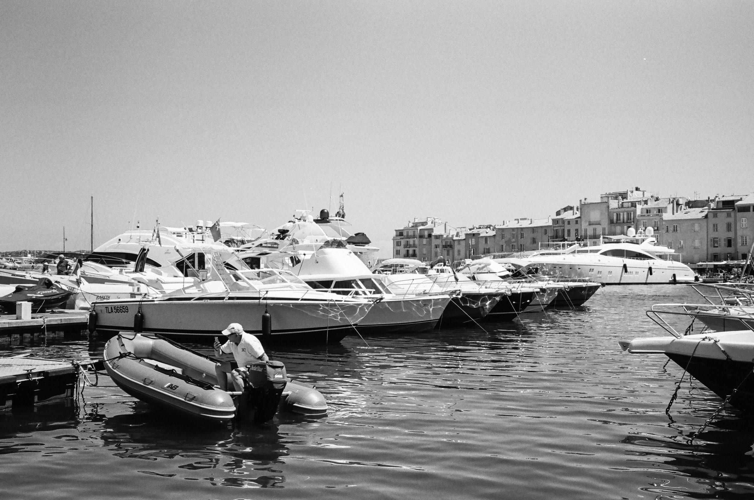 Port de Saint-Tropez, St. Tropez. France. 2017.