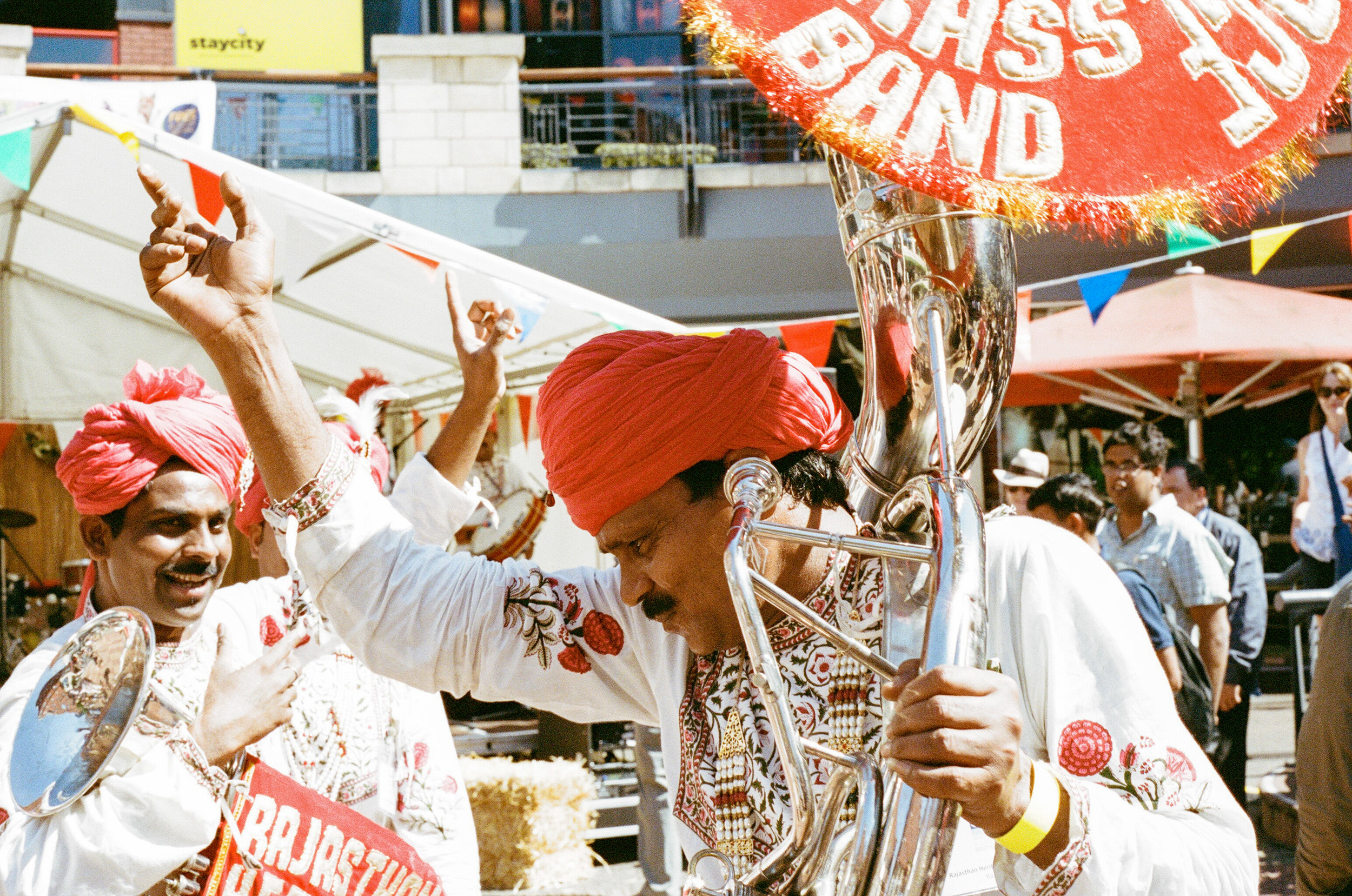 Rajasthan Heritage Brass Band, Summer in Southside - Clifford Darby 2017