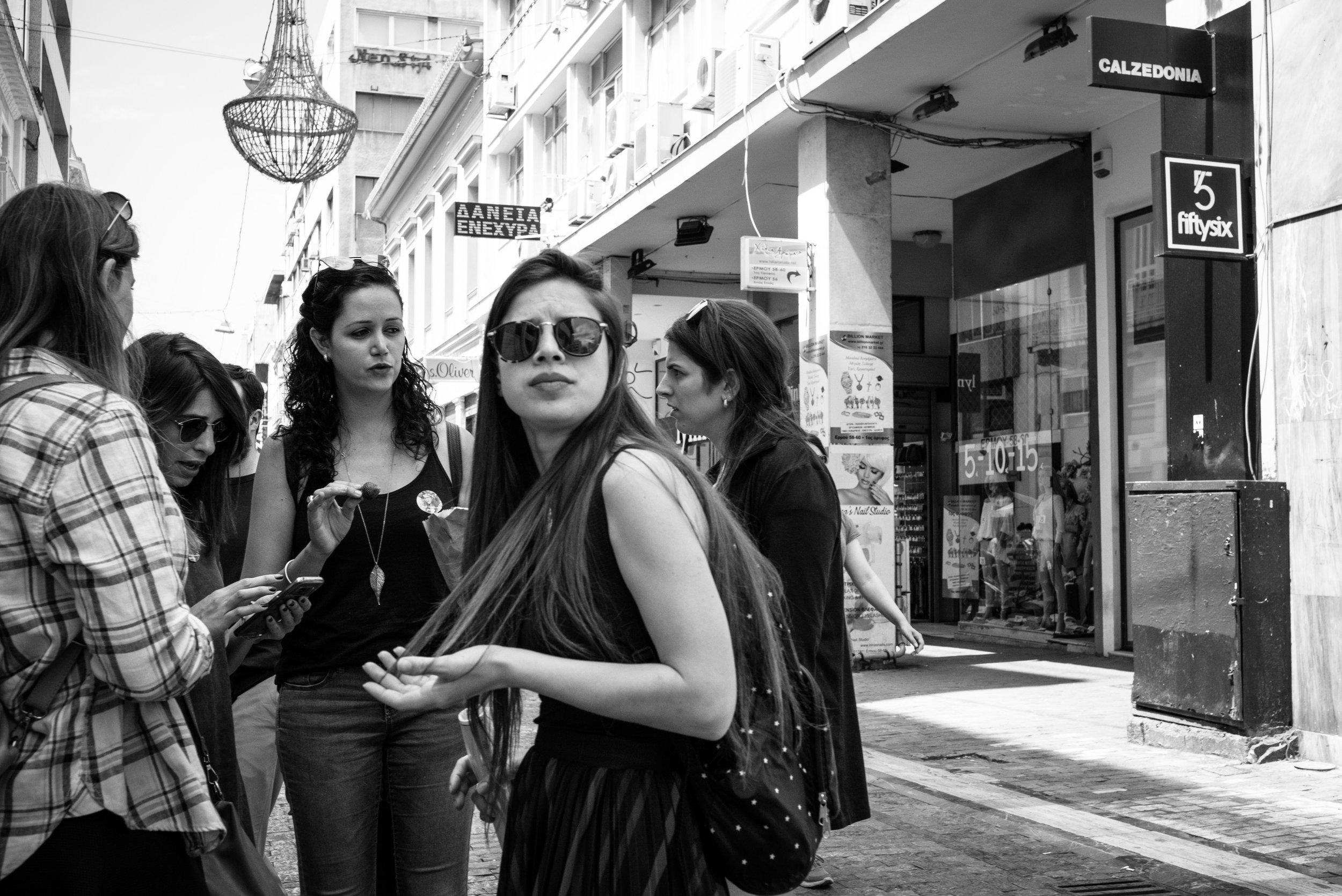 Ermou Street, Athens. Greece. 2018.