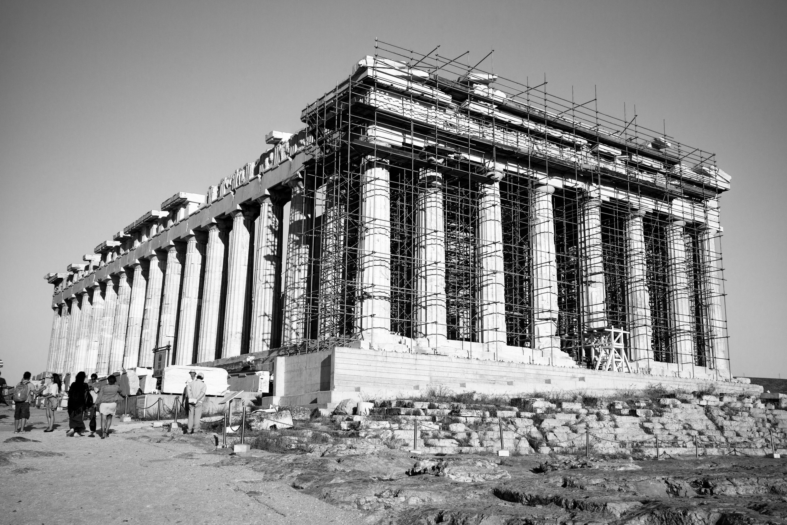 Parthenon, Athens. Greece. 2018.