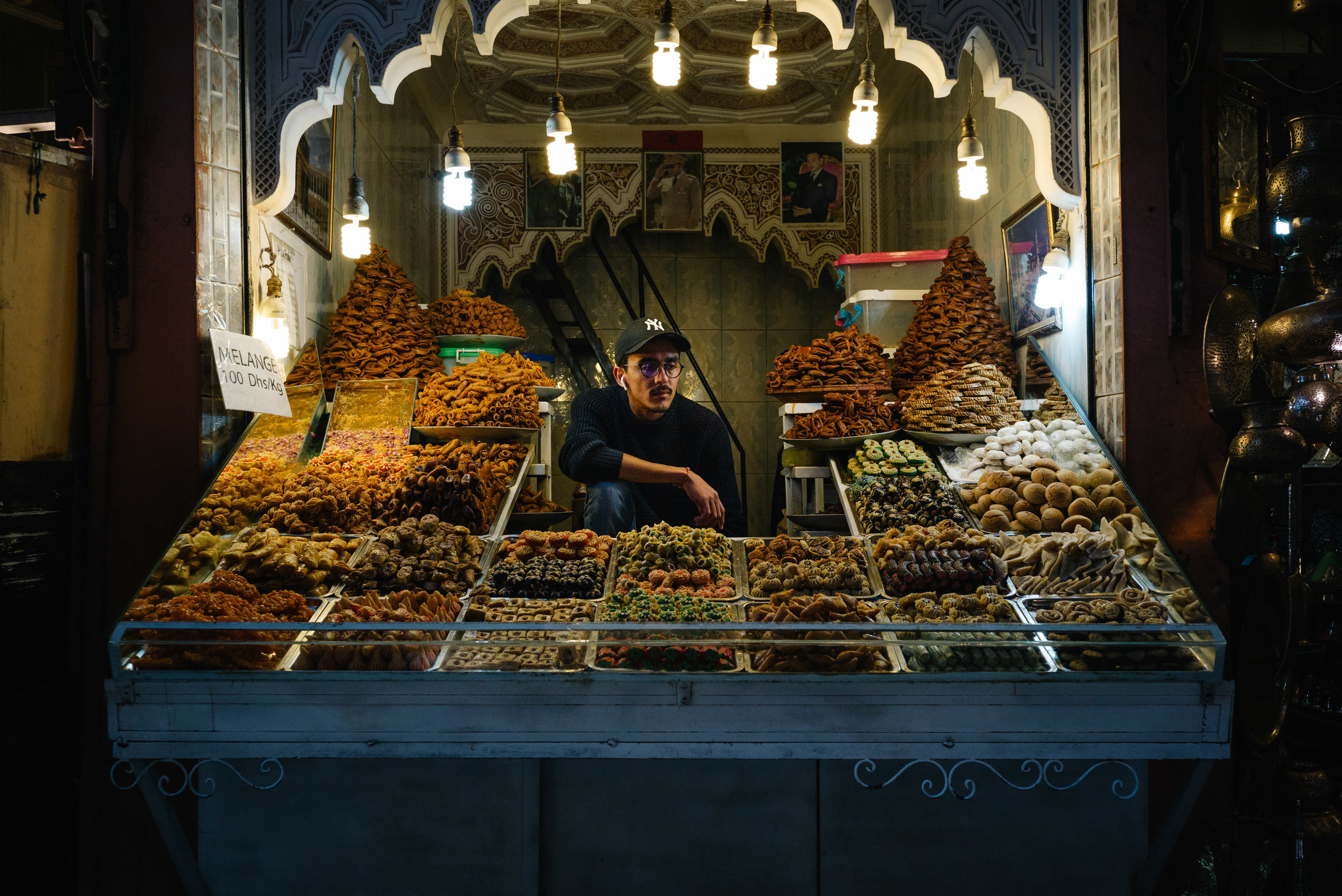 A baklava stall - Clifford Darby 2018