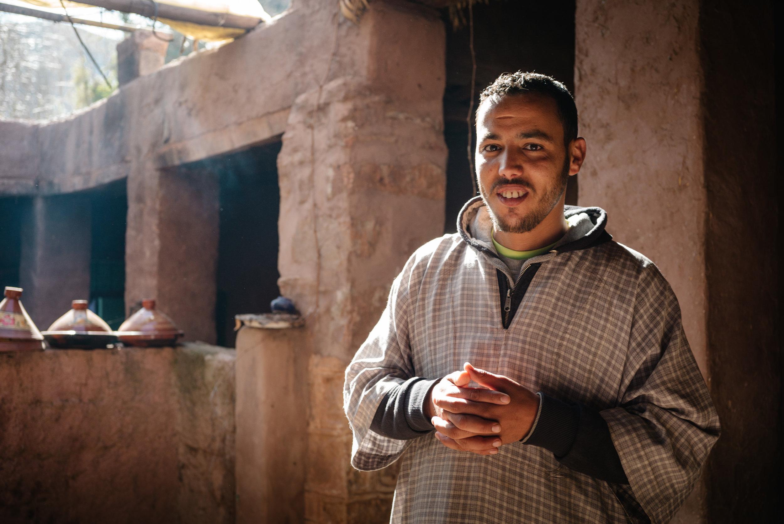 Muhammad, a Berber man  - Clifford Darby 2018