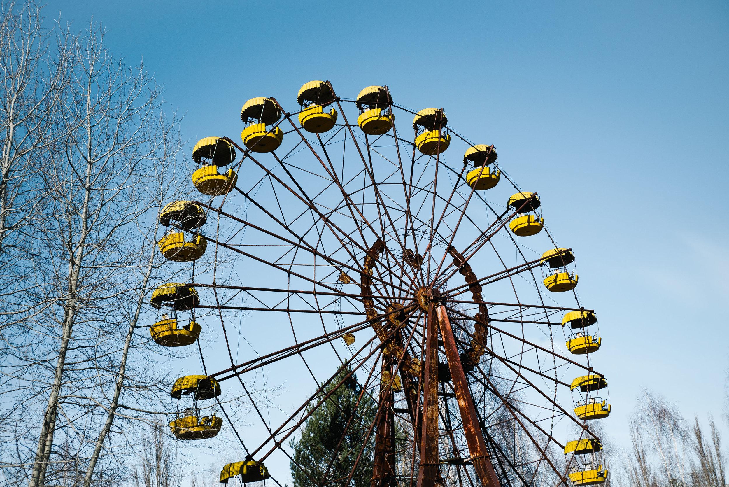 Pripyat Ferris Wheel - Clifford Darby 2019