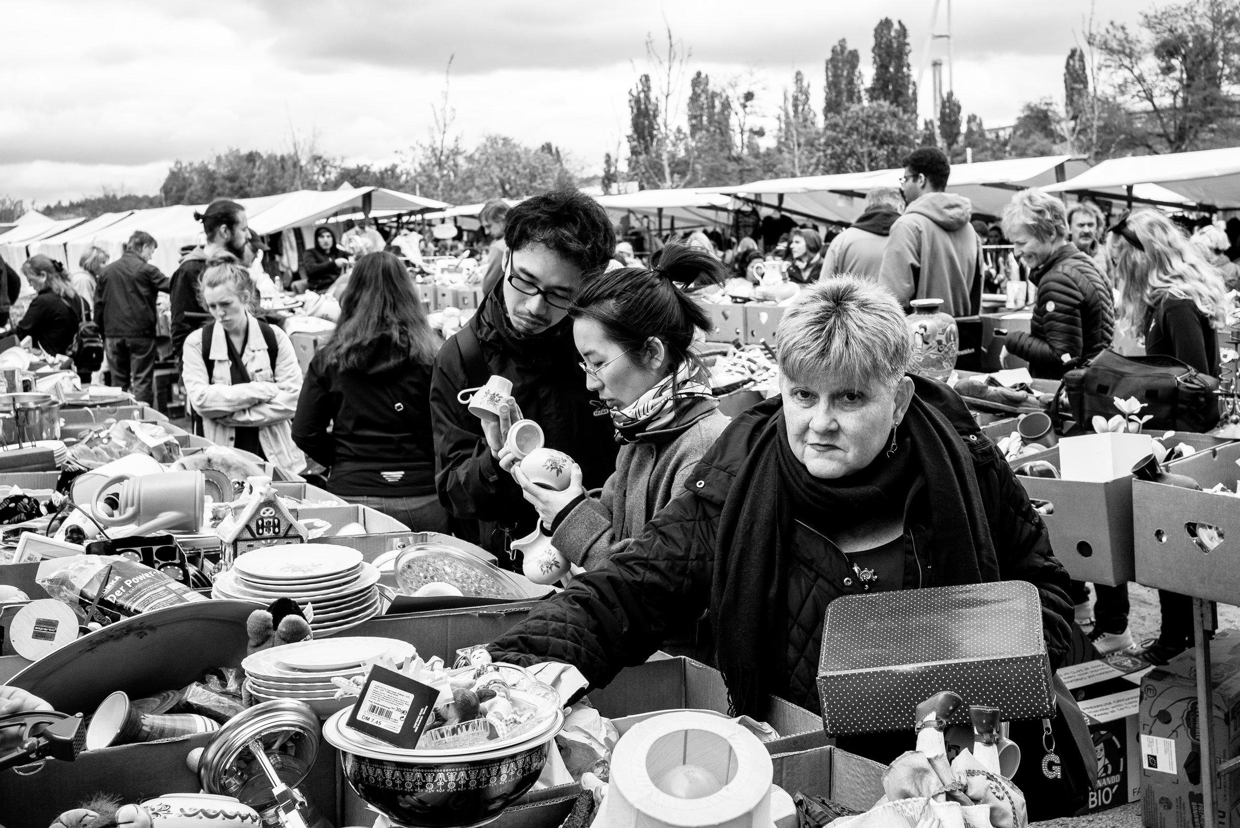 Flea Market at Mauerpark, Berlin. 2019.