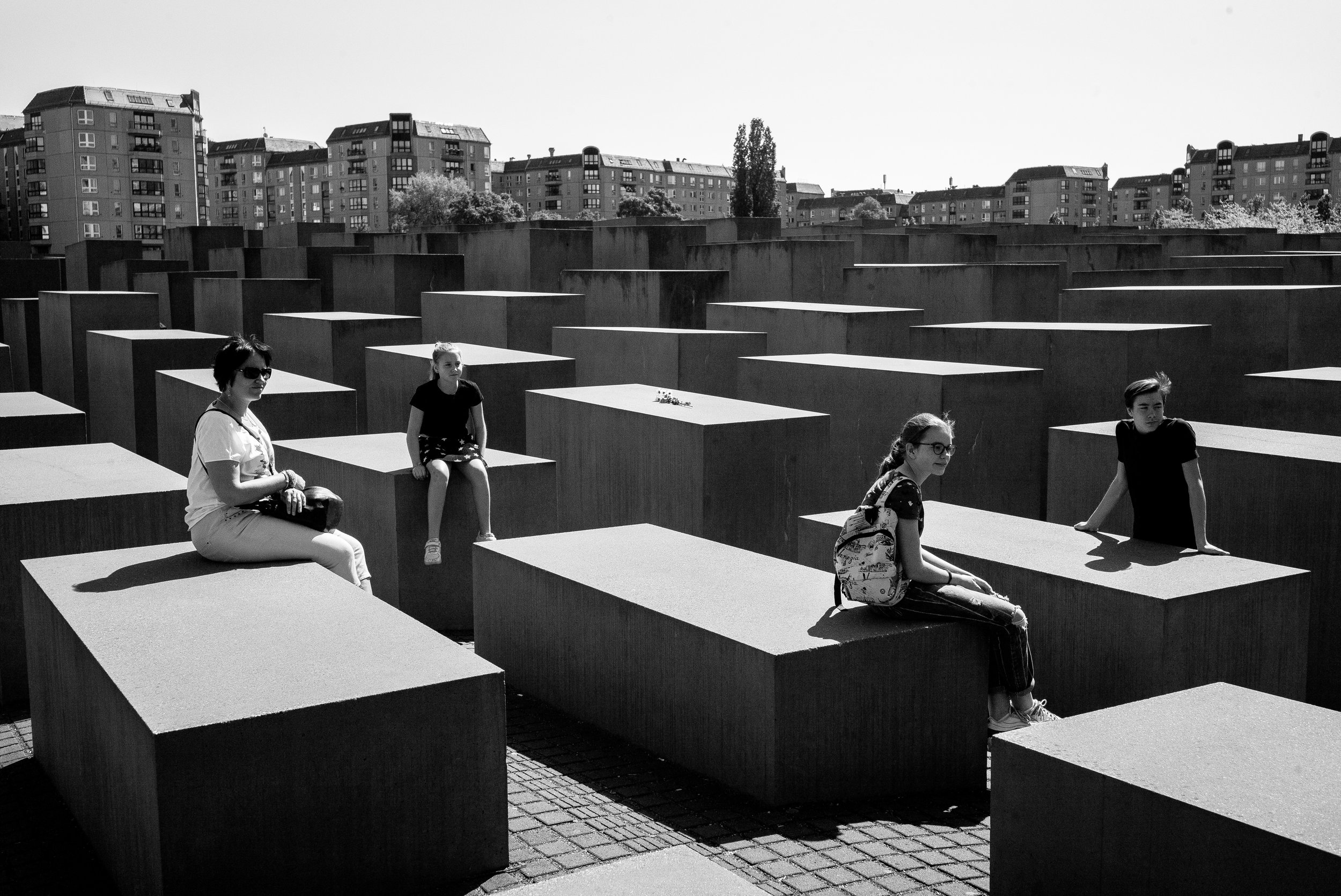 Memorial to the Murdered Jews of Europe, Berlin. Germany. 2019.