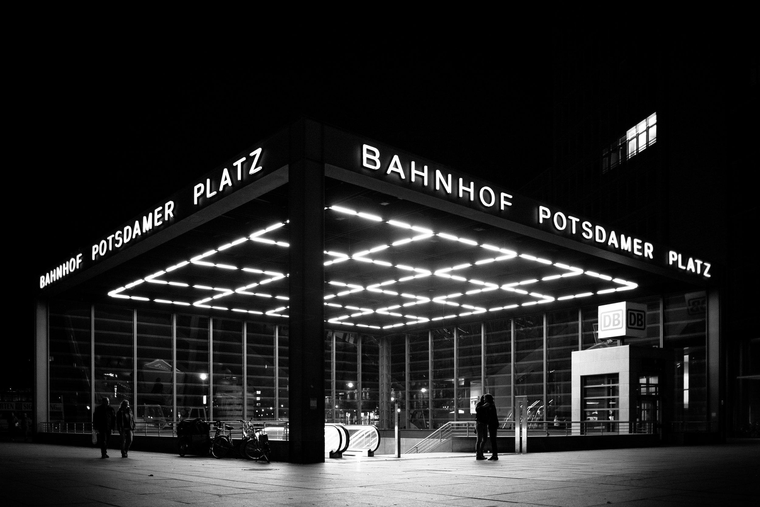 Bahnhof Potsdamer Platz, Berlin. Germany. 2018.