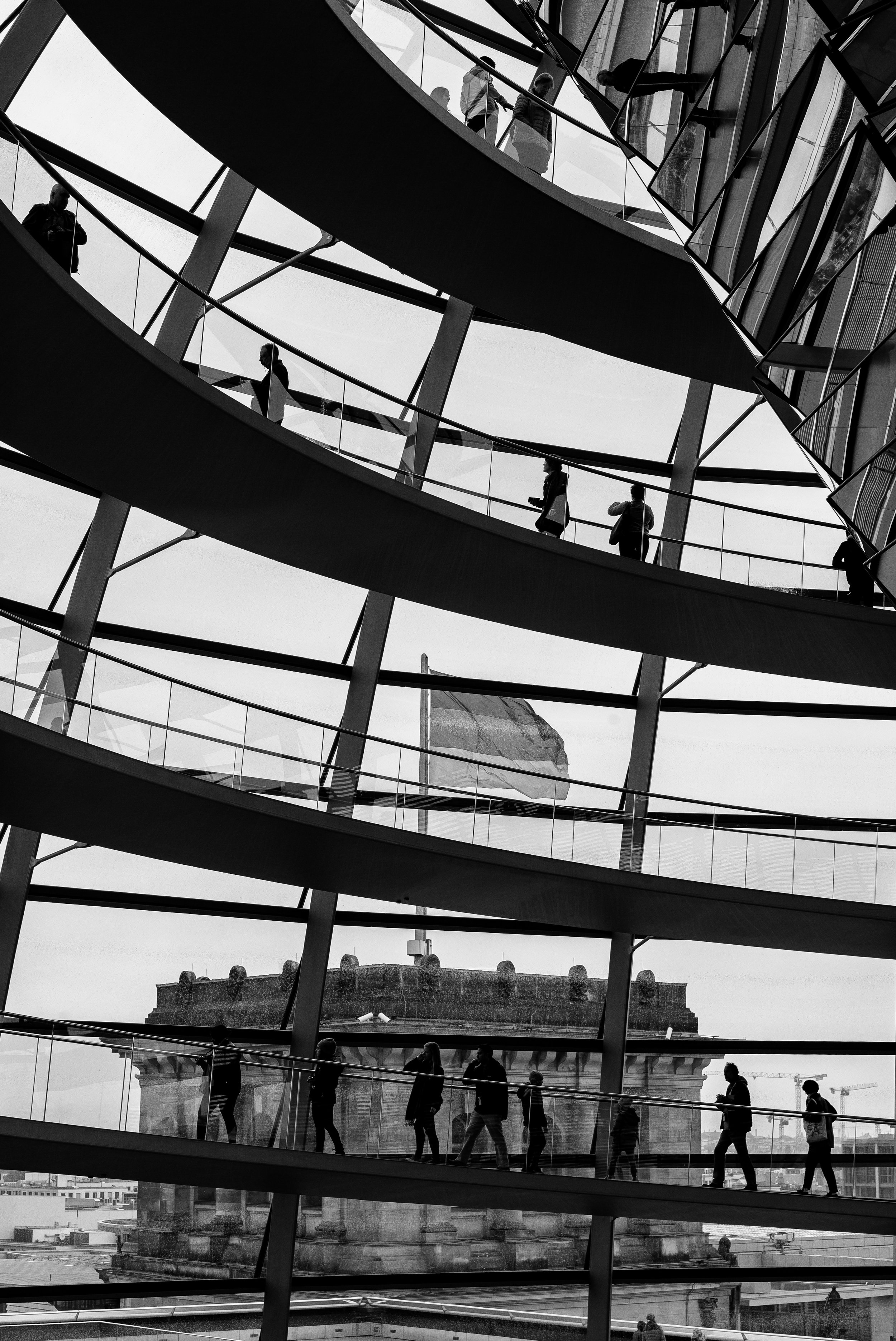 Reichstag Building, Berlin. Germany. 2019.