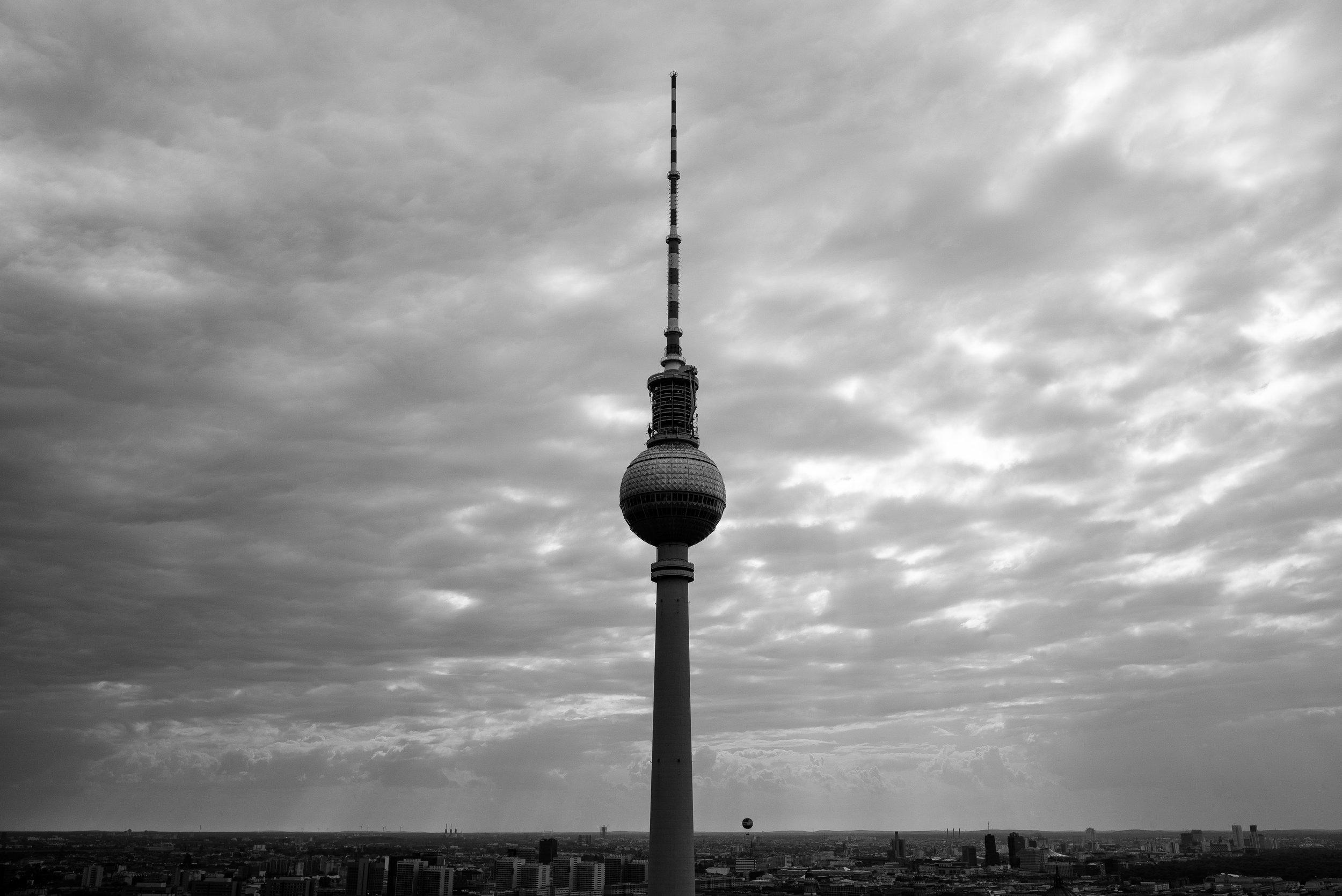 The Fernsehturm, Berlin. Germany. 2019.