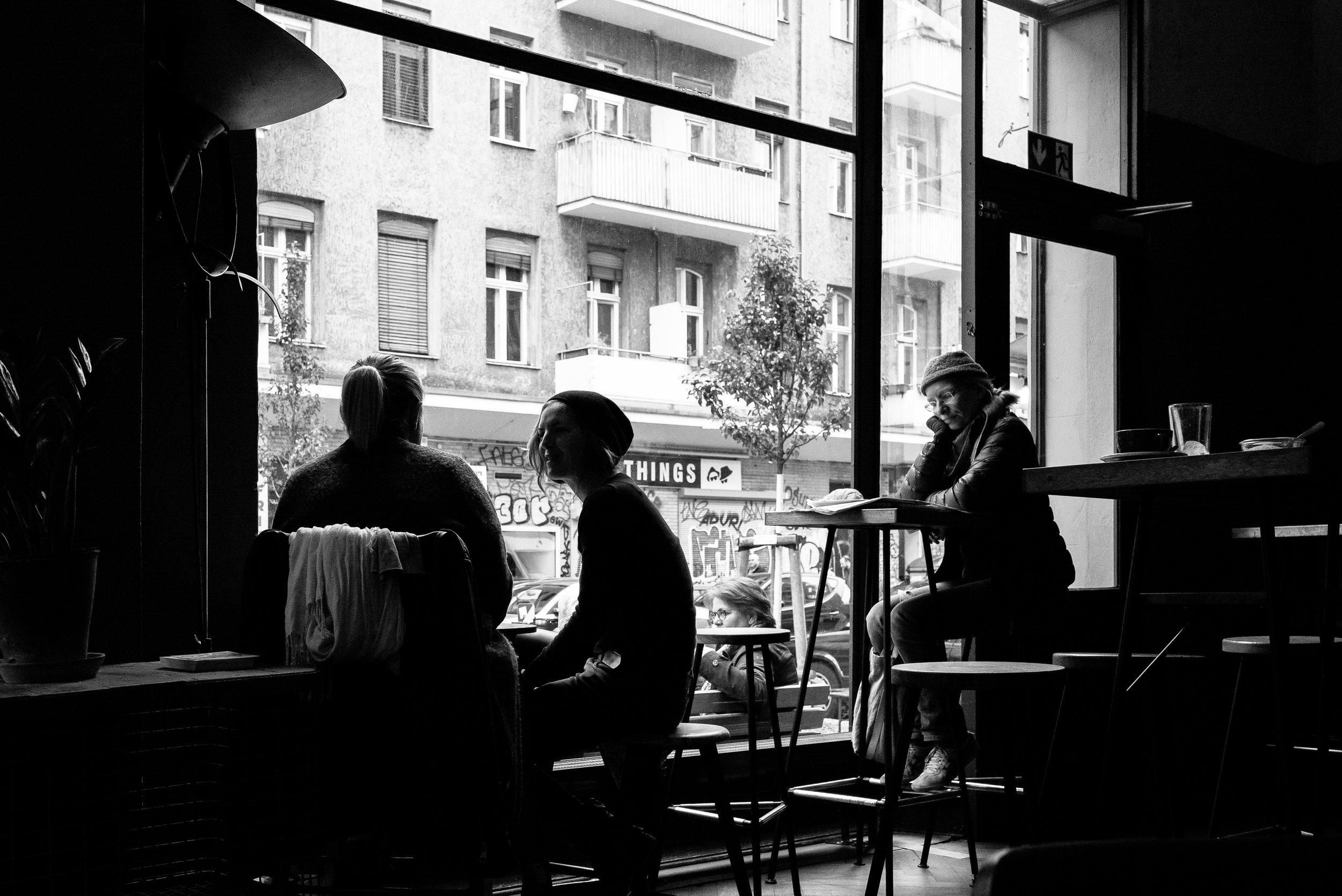Café 9, Berlin. Germany. 2019.