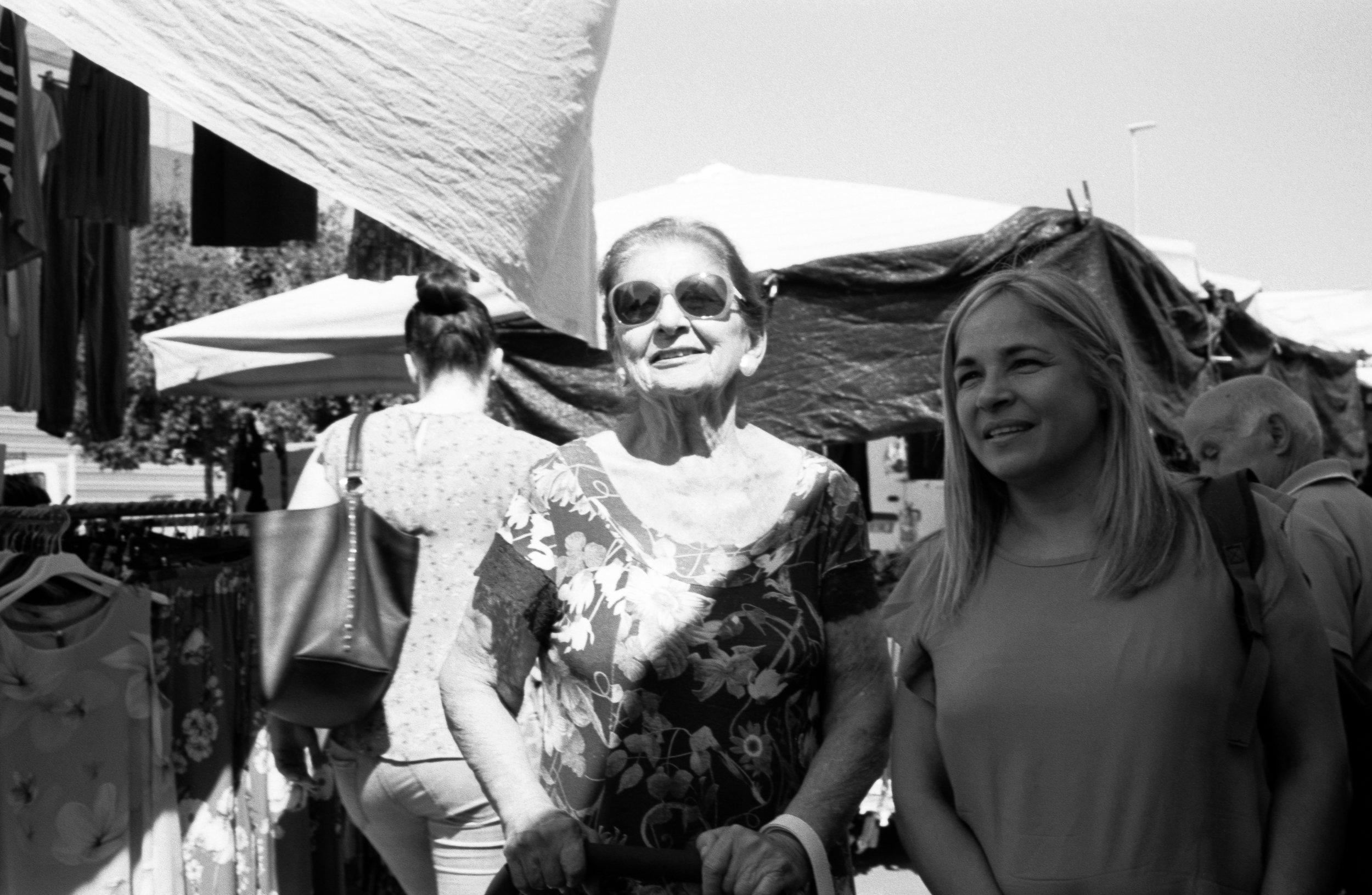 Market day, Certaldo. Italy. 2019.