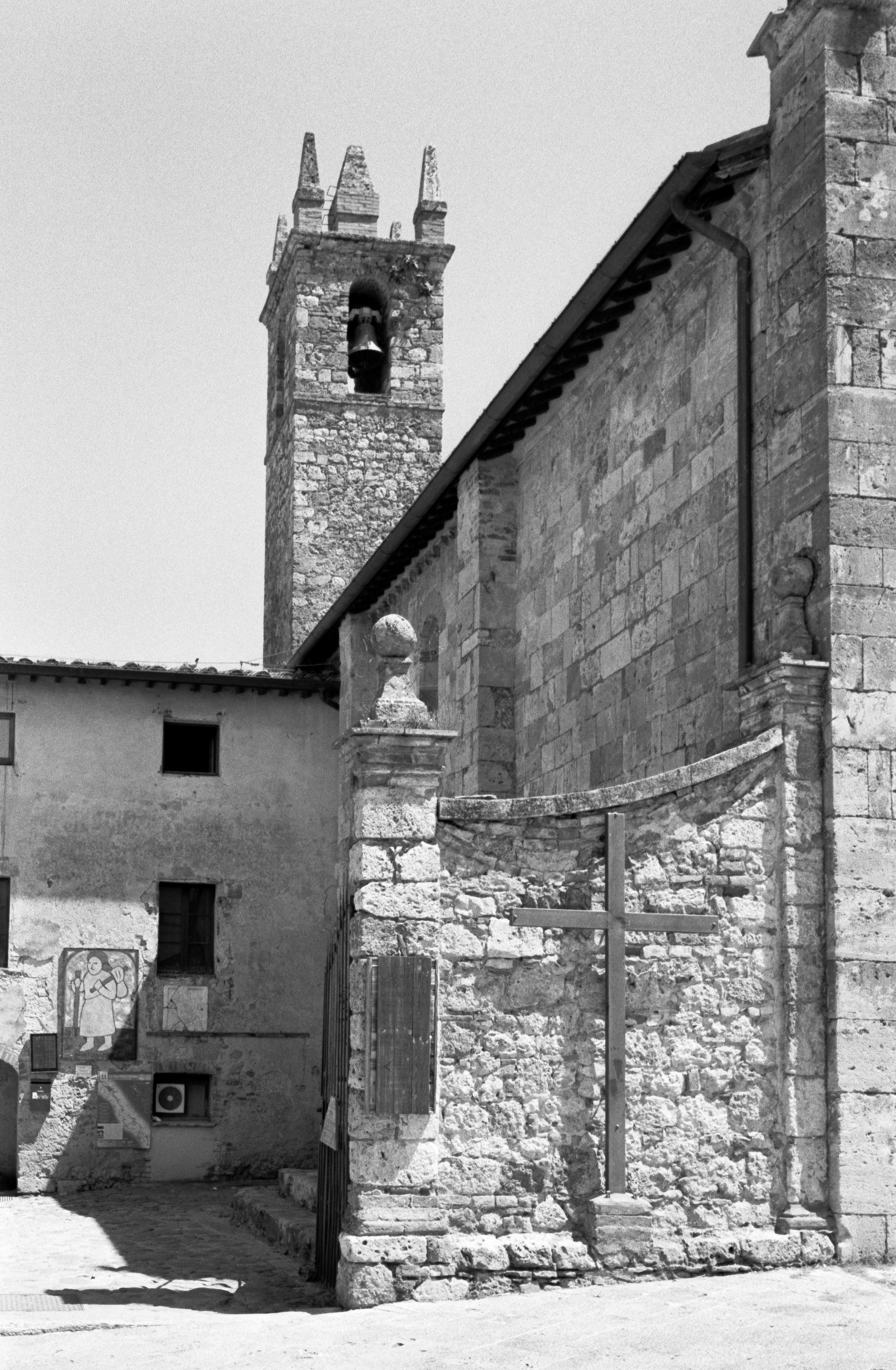 Church of Santa Maria, Monteriggioni. Italy. 2019.