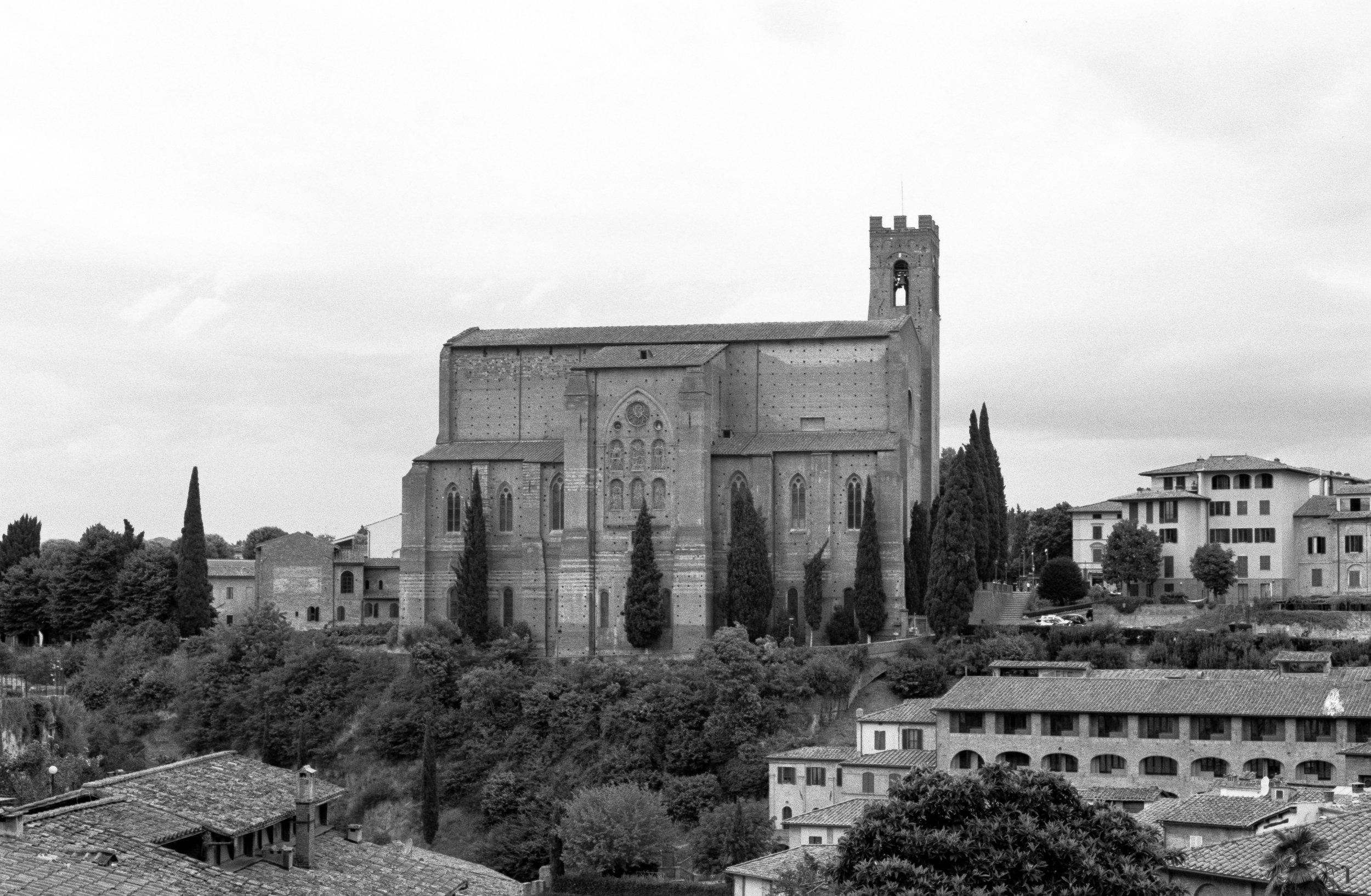 Basilica of San Francesco, Siena. Italy. 2019.