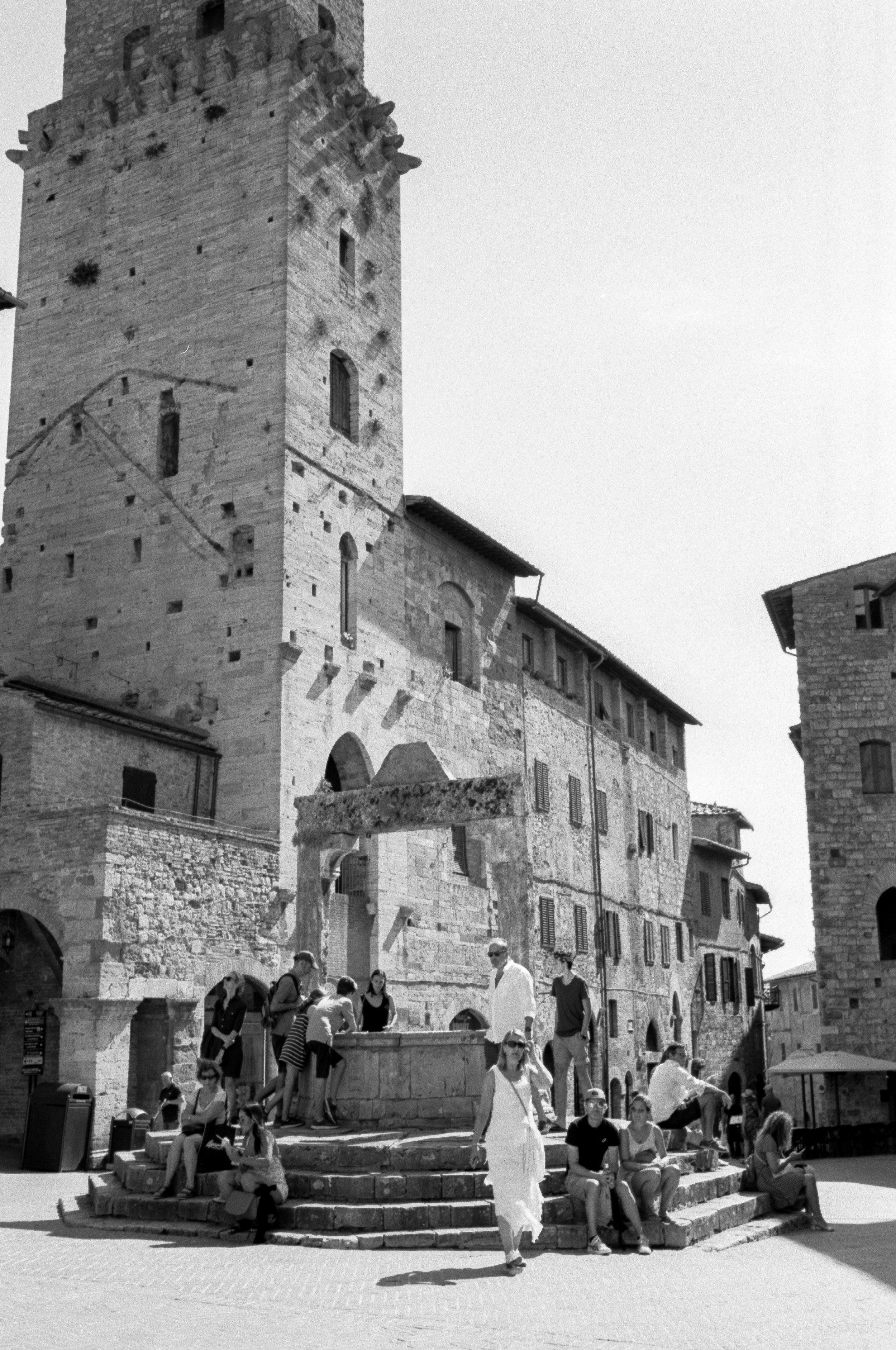 San Gimignano. Italy. 2019.