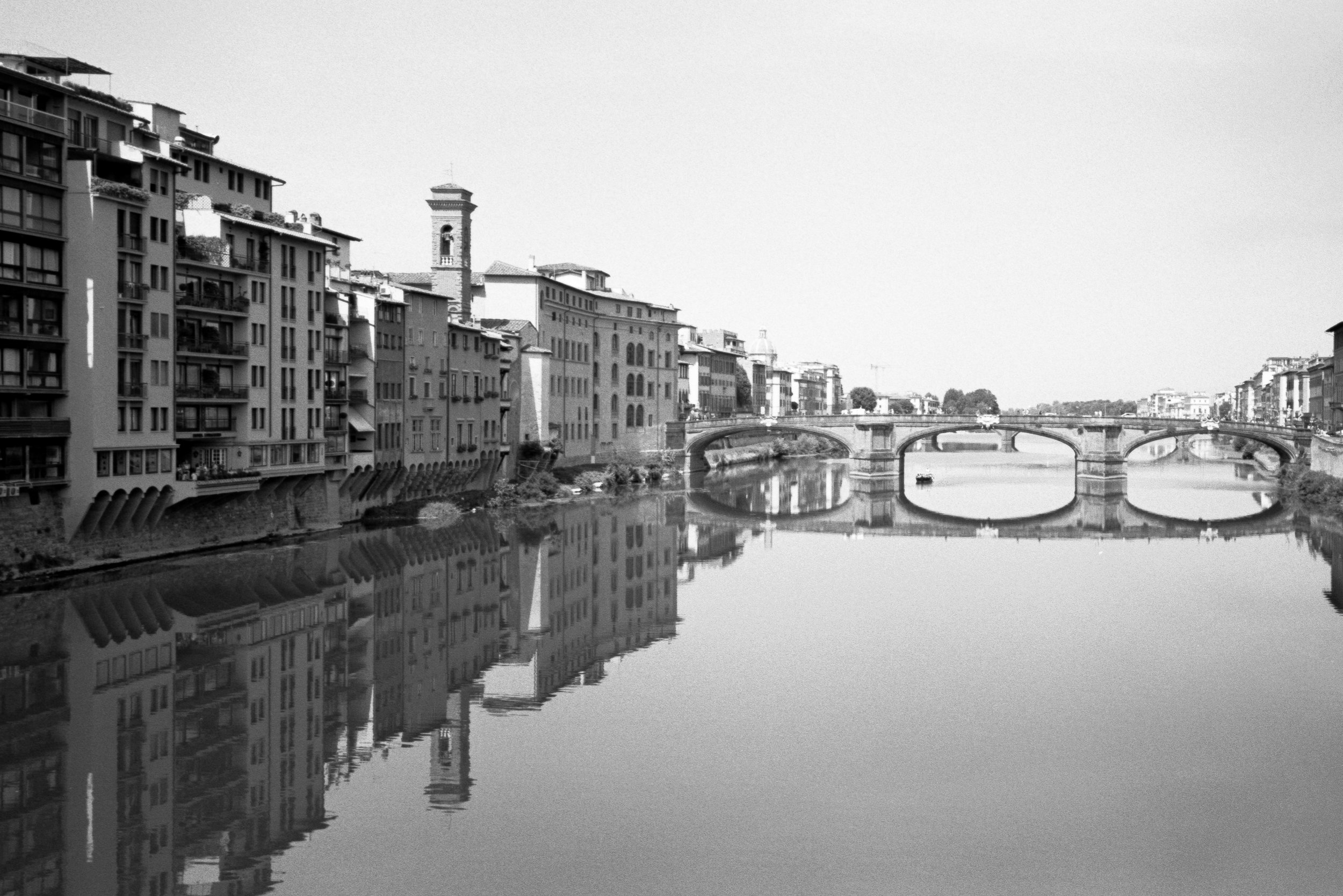 The Arno, Florence. Italy. 2019.