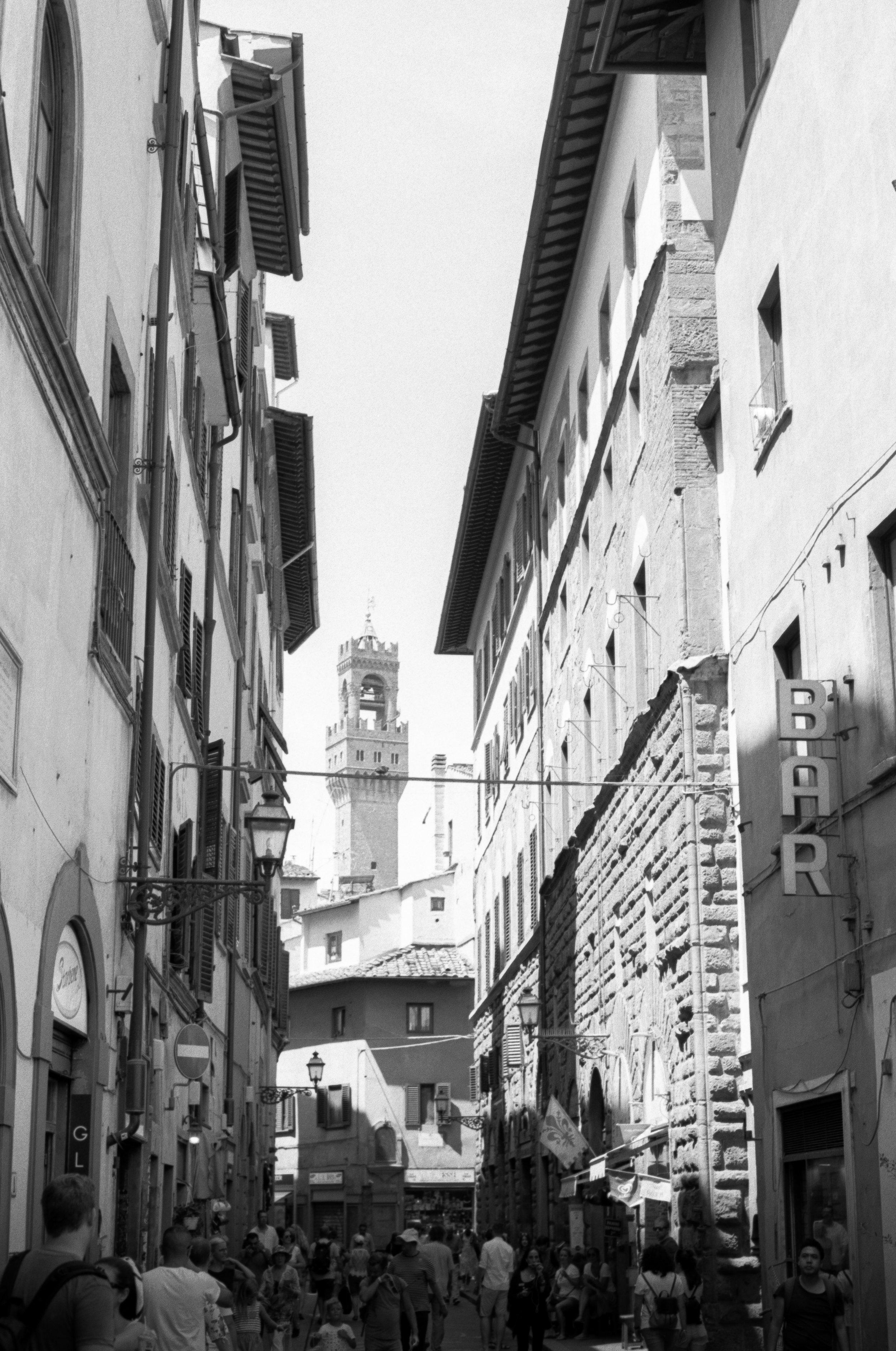 Palazzo Vecchio, Florence. Italy. 2019.