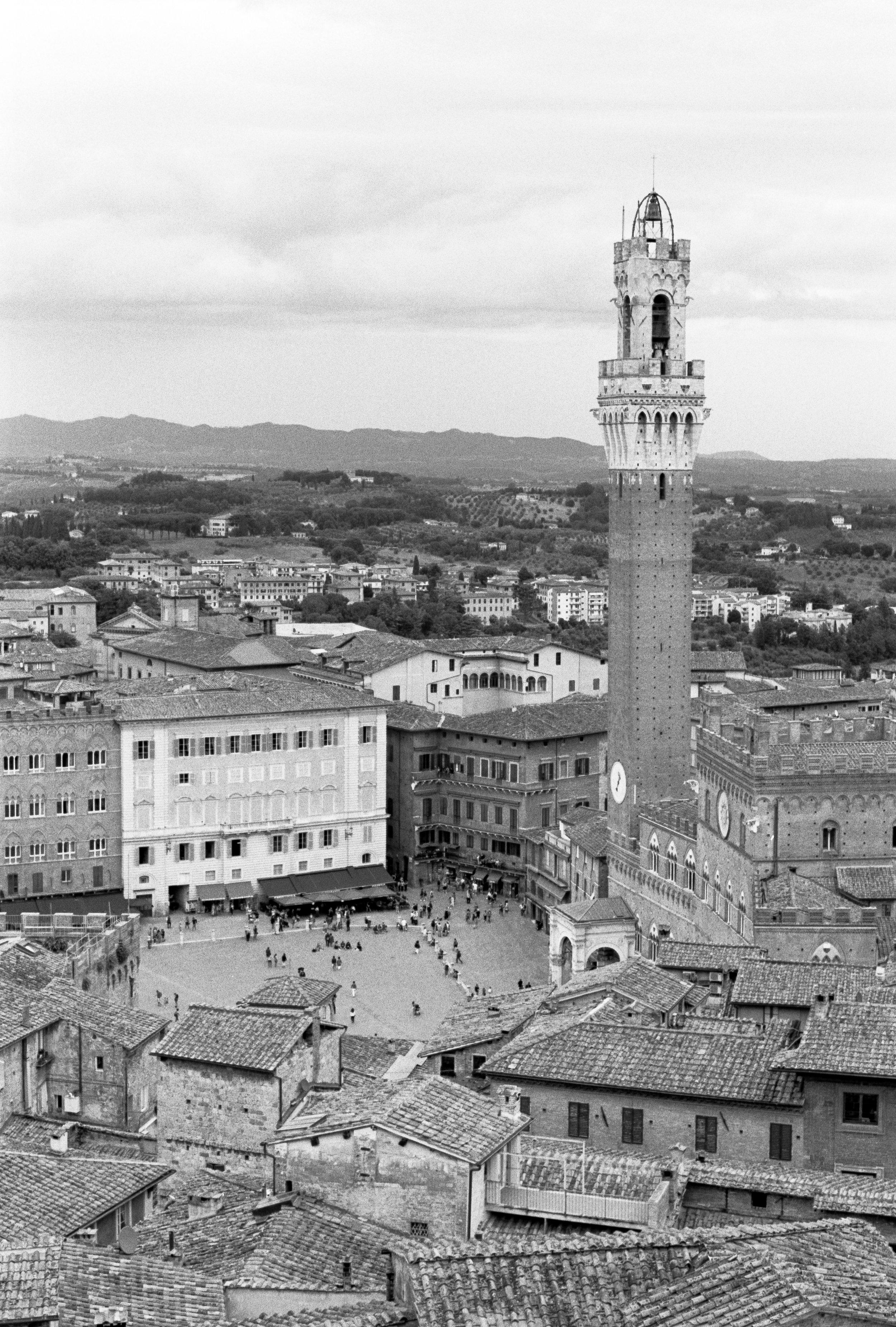 Piazza del Campo, Siena. Italy. 2019.