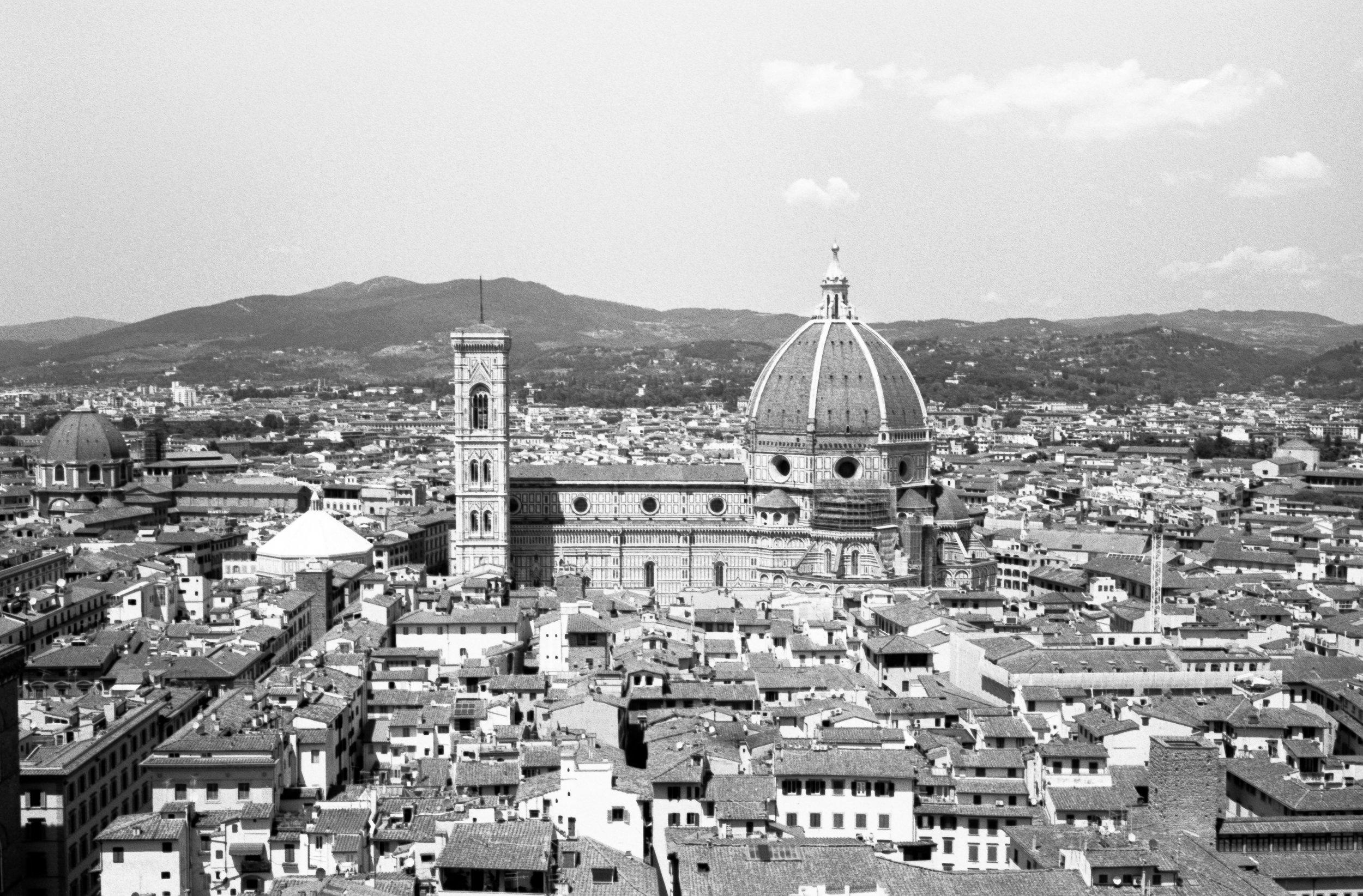 Cathedral of Santa Maria, Florence. Italy. 2019.