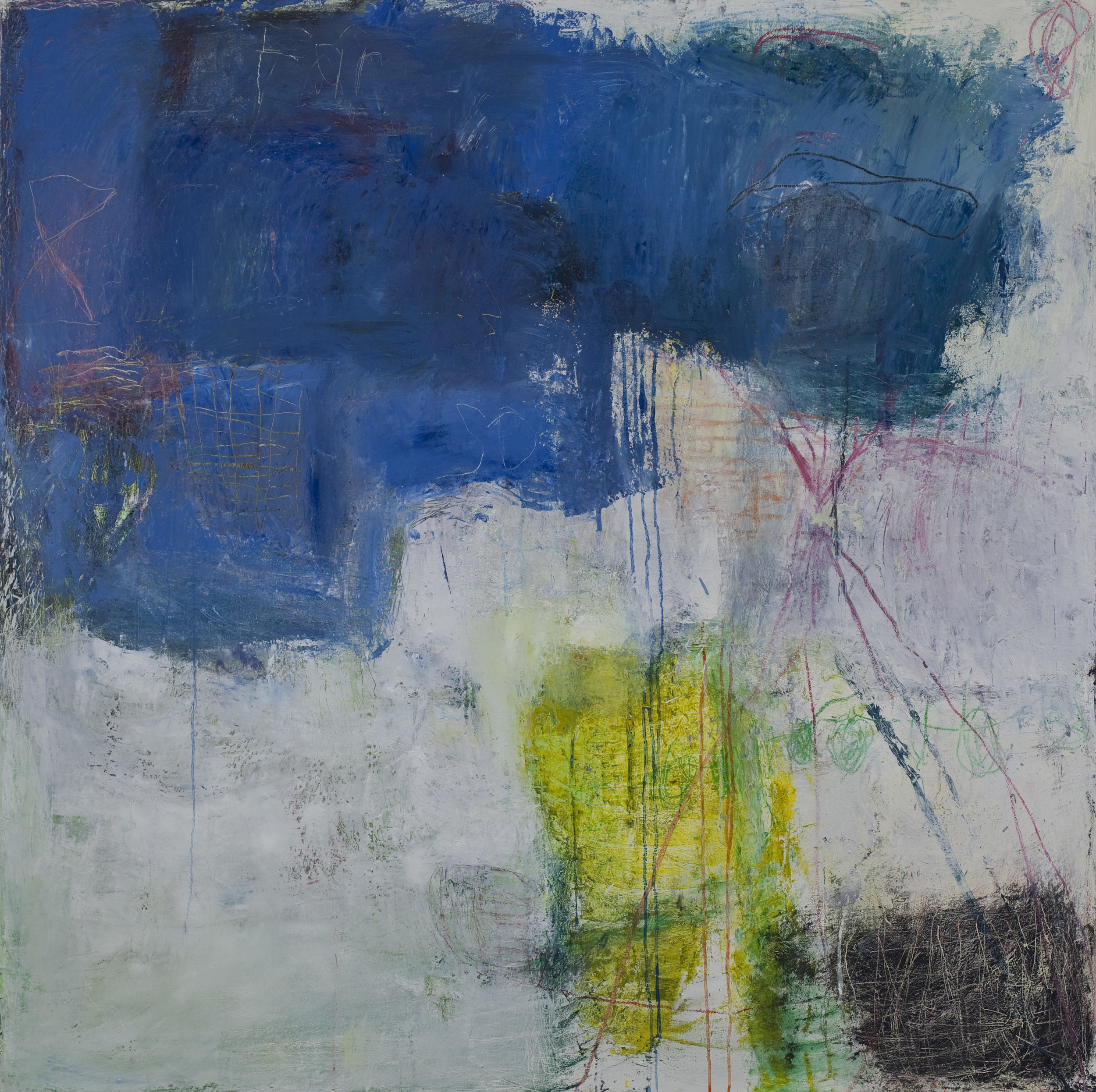 New Life 72x72in 2017