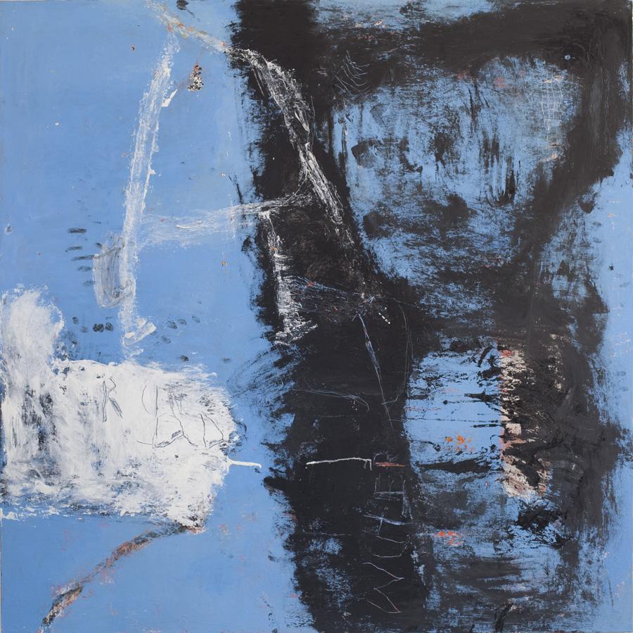 sold La Cueva 72x72 in oil on canvas 2016