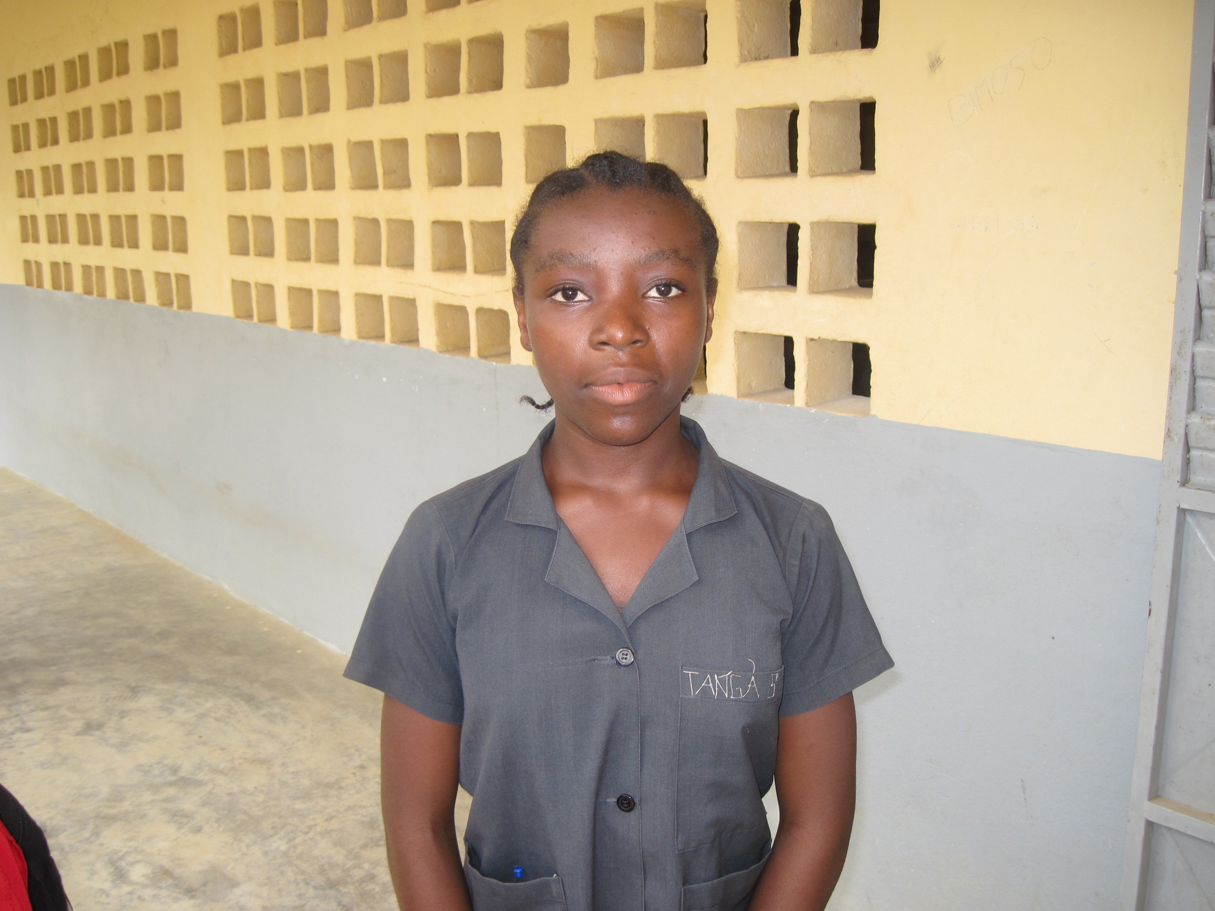 Our cameroon student