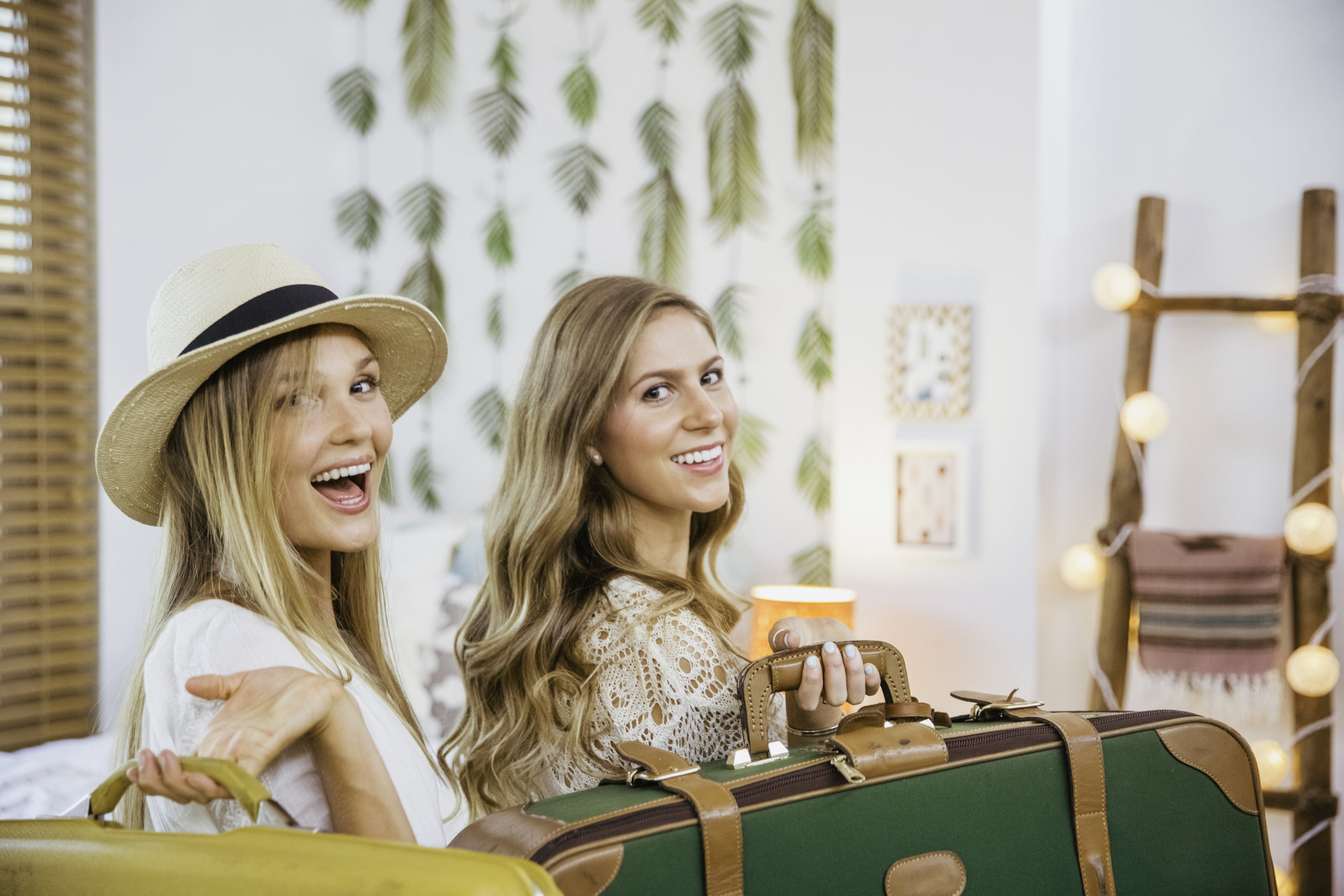 Meet Solia & Emily - These BFFs are finally rooming together. They want their small 130 sq. ft. space to feel like one cohesive and stylish room that reflects their stylish boho-chic tastes.
