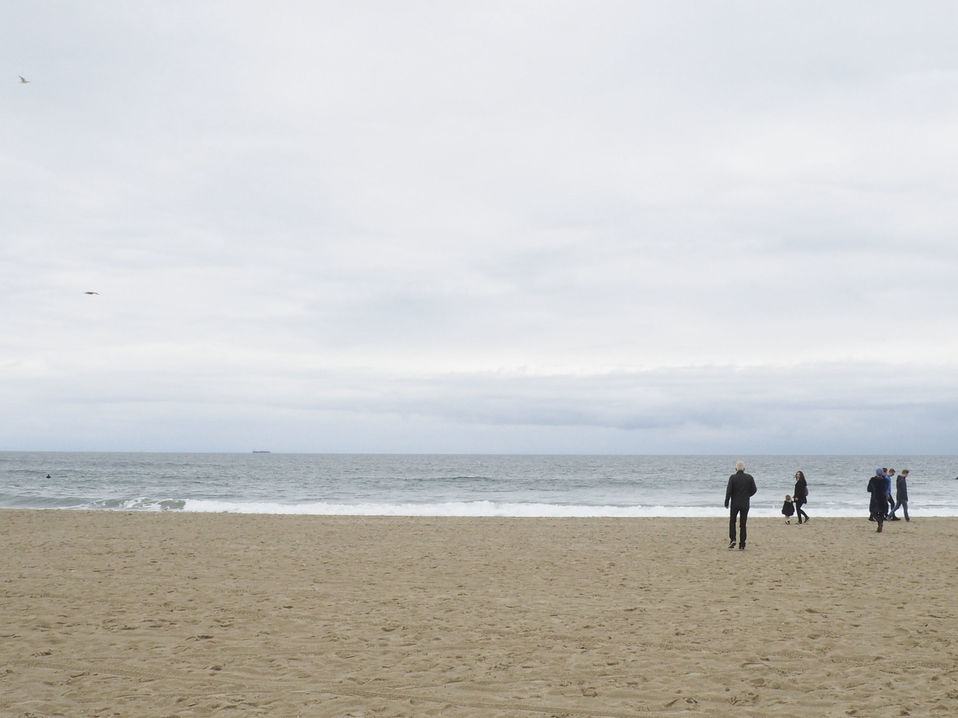 Get a chance to stop at the beach. Even when it's cloudy, the breeze is refreshing.