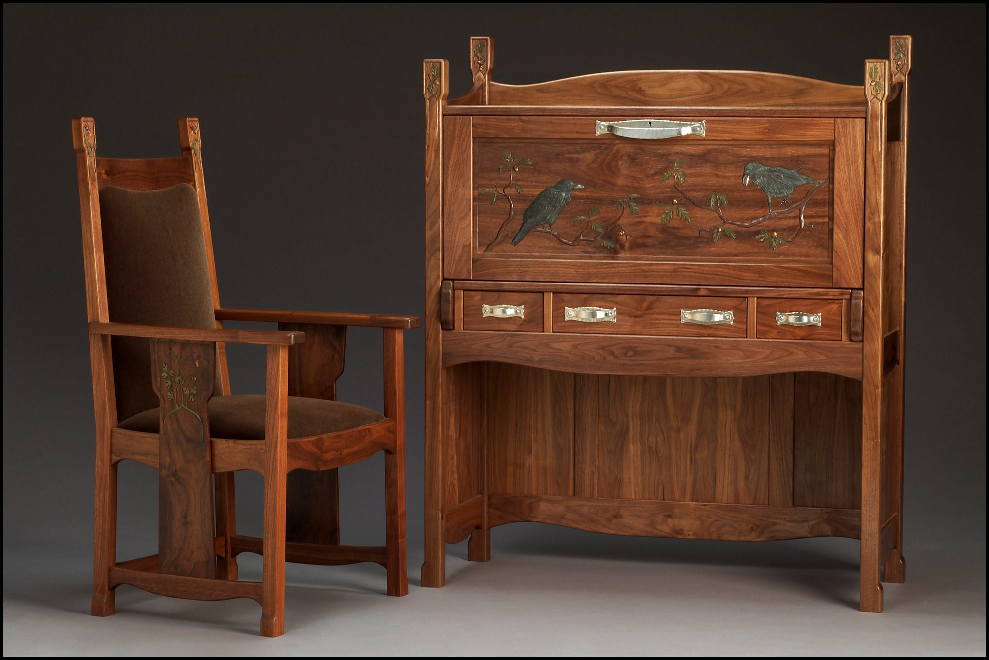 Voysey Desk & Chair