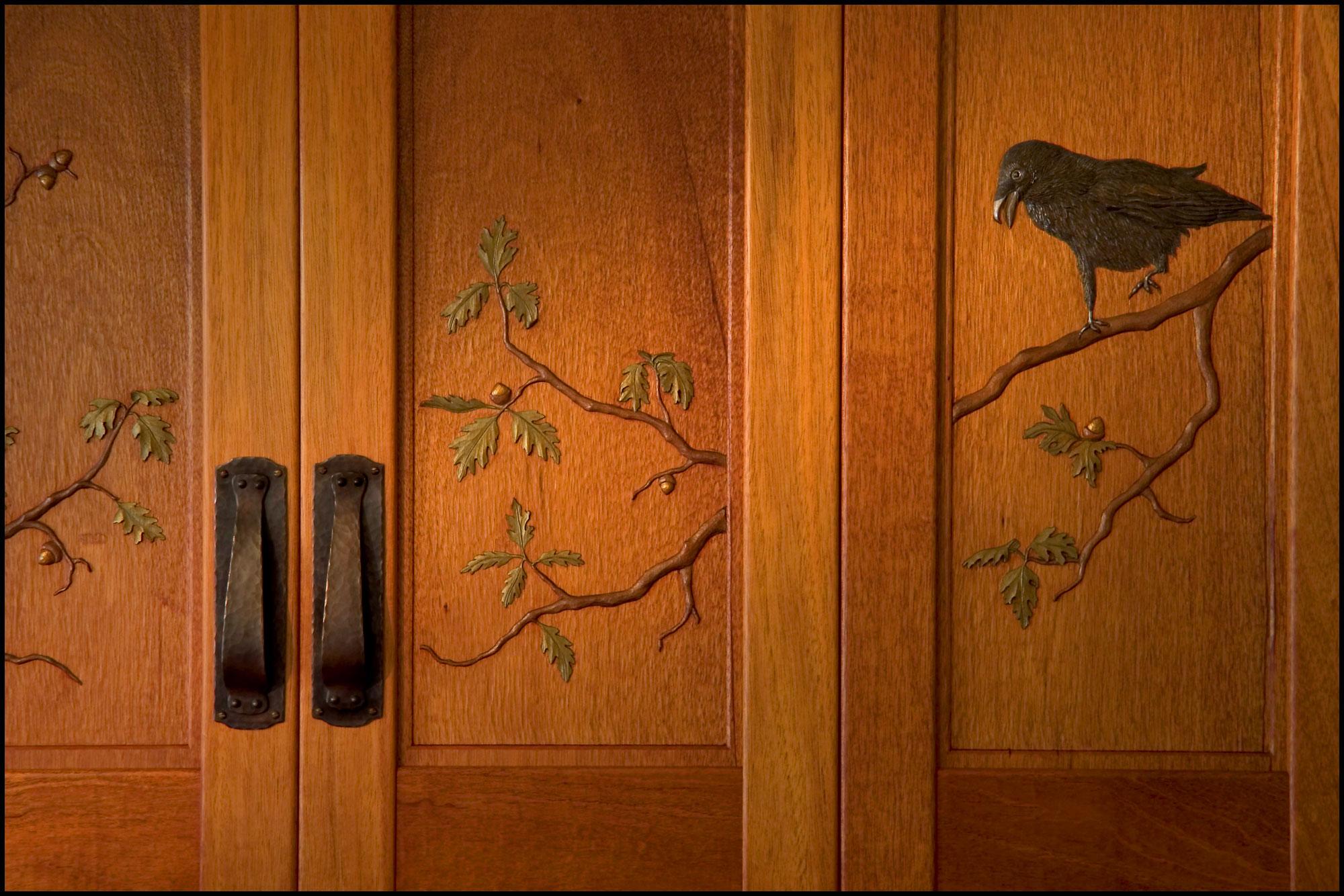 Voysey Mantel Detail