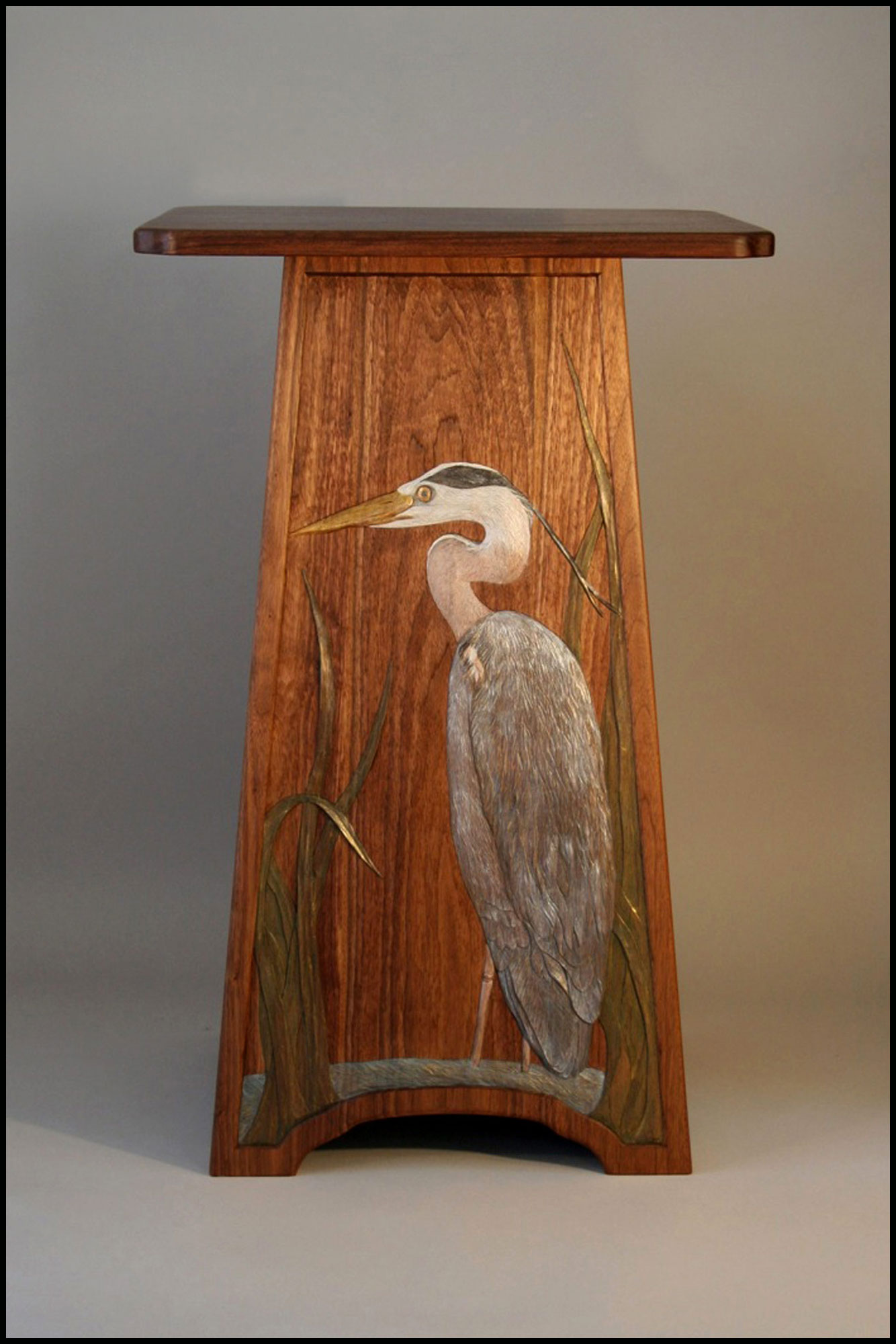 Great Blue Heron Table