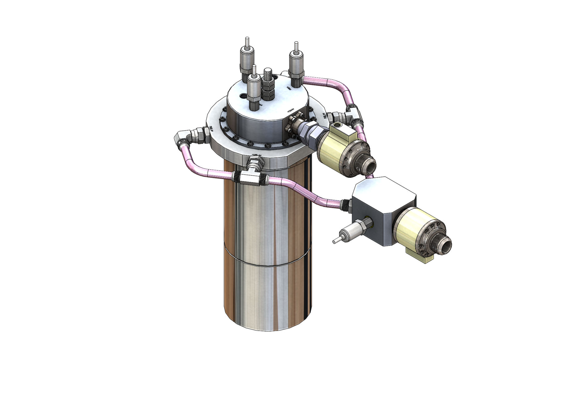 Ground Test Iron LOTUS Engine with TS-160Y Main Propellant Valves