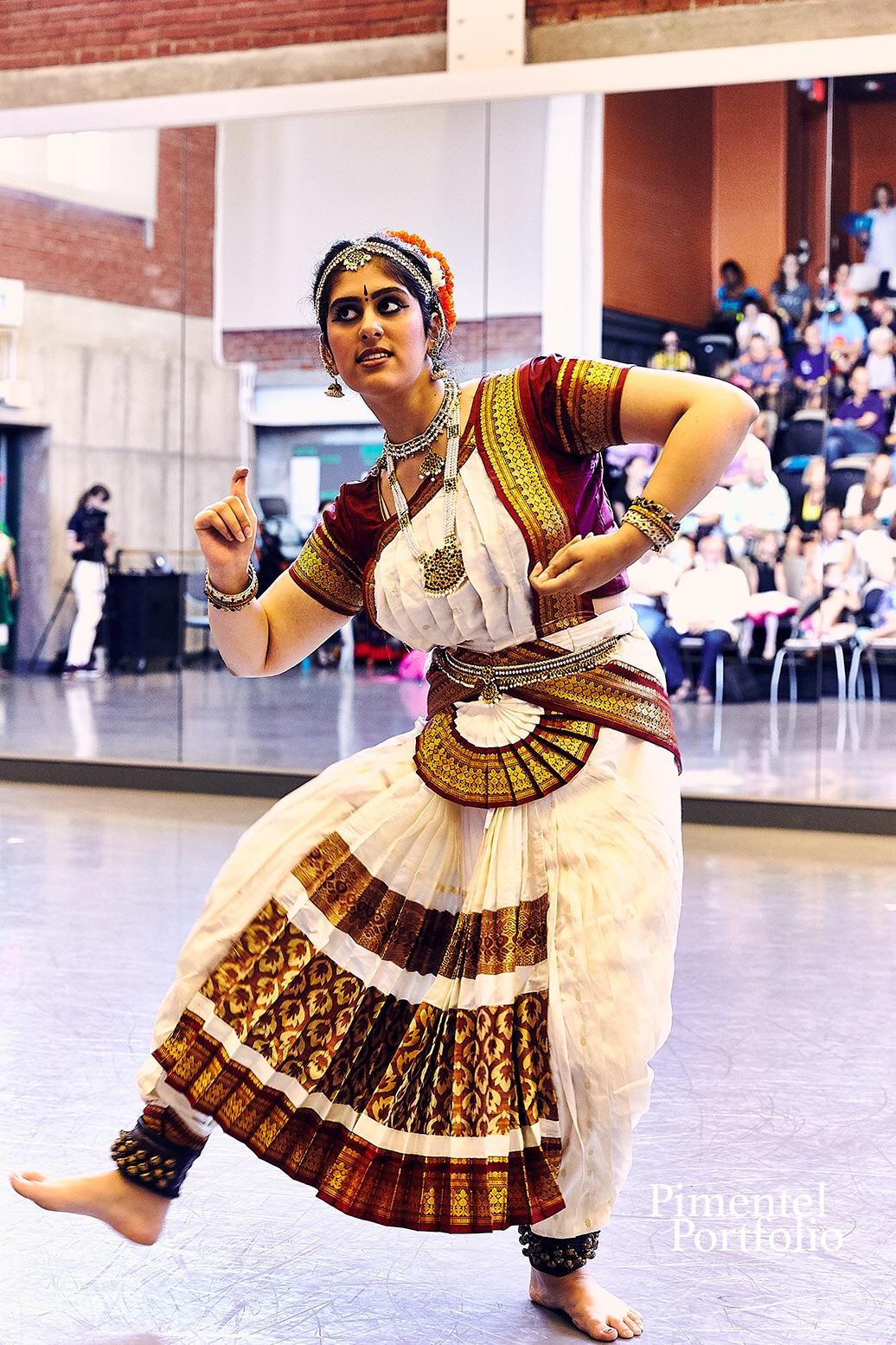 A world showcase dancer at KC Dance Day 2017