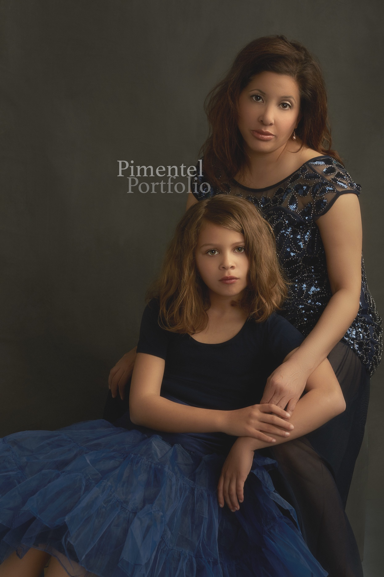 Daughter and Mother captured in time. Image by Pimentel Portfolio LLC.