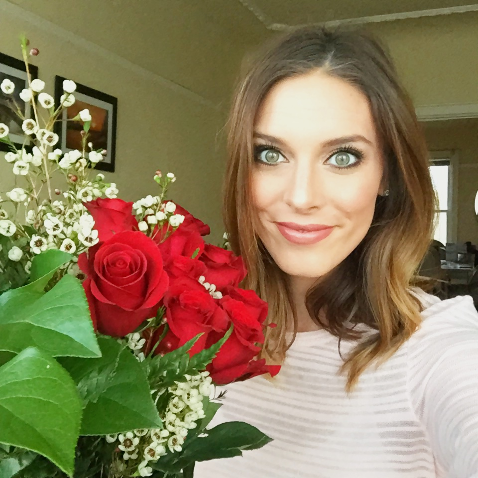 Flowers from my Valentine.