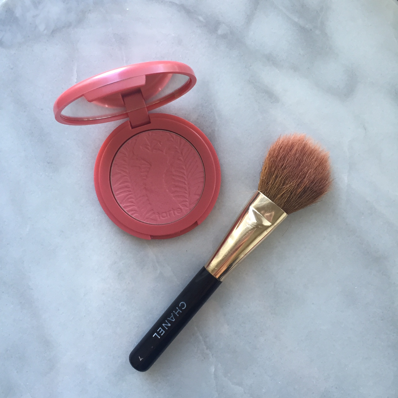 Monthly Beauty Favorites: Tarte Blush | http://thefourthreads.com